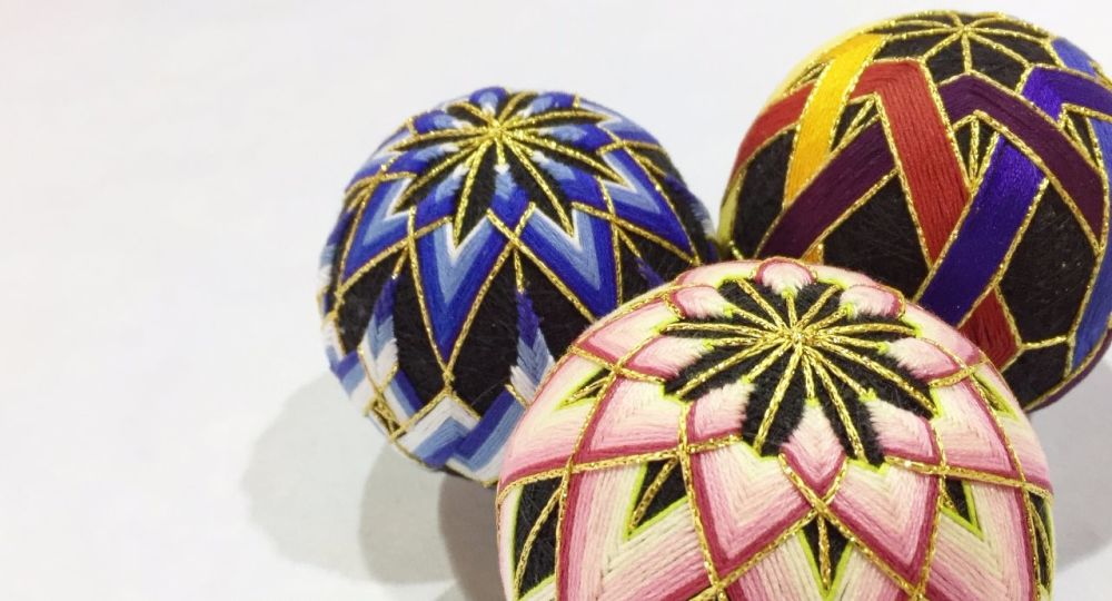 <!-- 063 --> Temari Ball Making Workshop - Saturday 24th November 2018