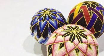 Temari Ball Making Workshop - Thursday 28th November 2019