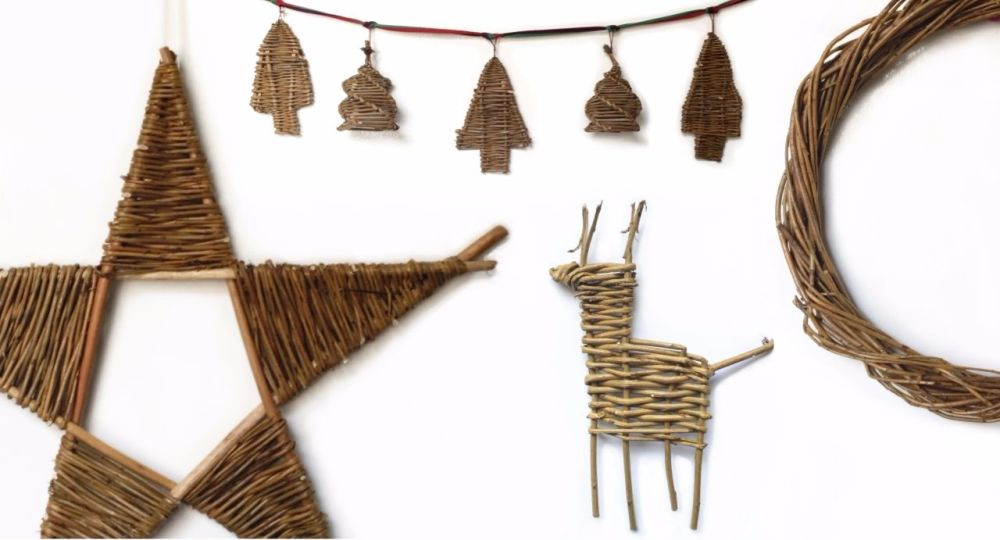 <!-- 064 --> Willow Christmas Decorations Workshop - Saturday 8th December