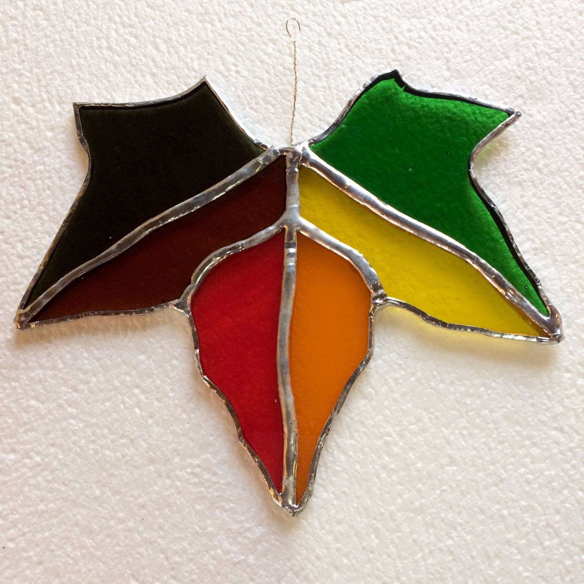 Stained Glass Workshop - Maple Leaf