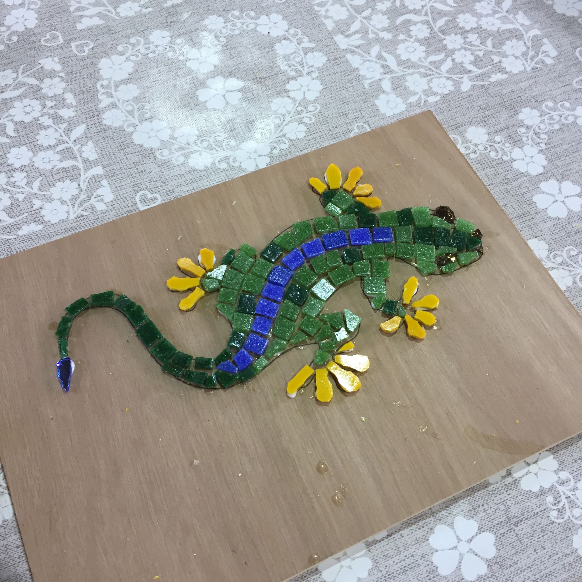 Mosaic Workshop - Reptile