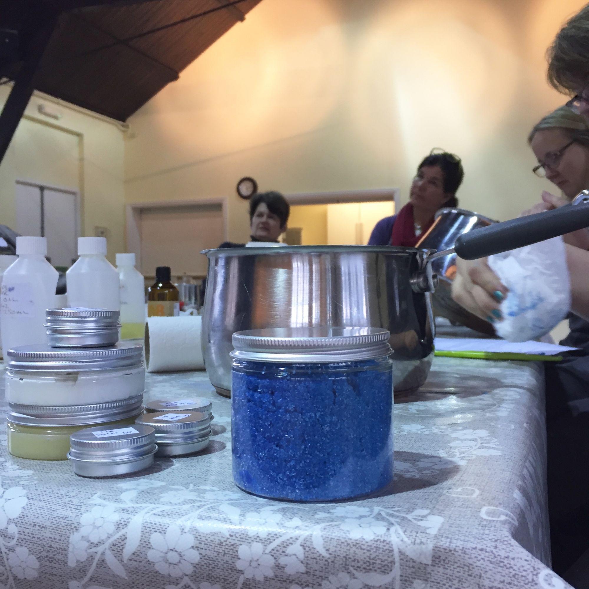 Salves, Soaks and Scubs Workshop - Soaks