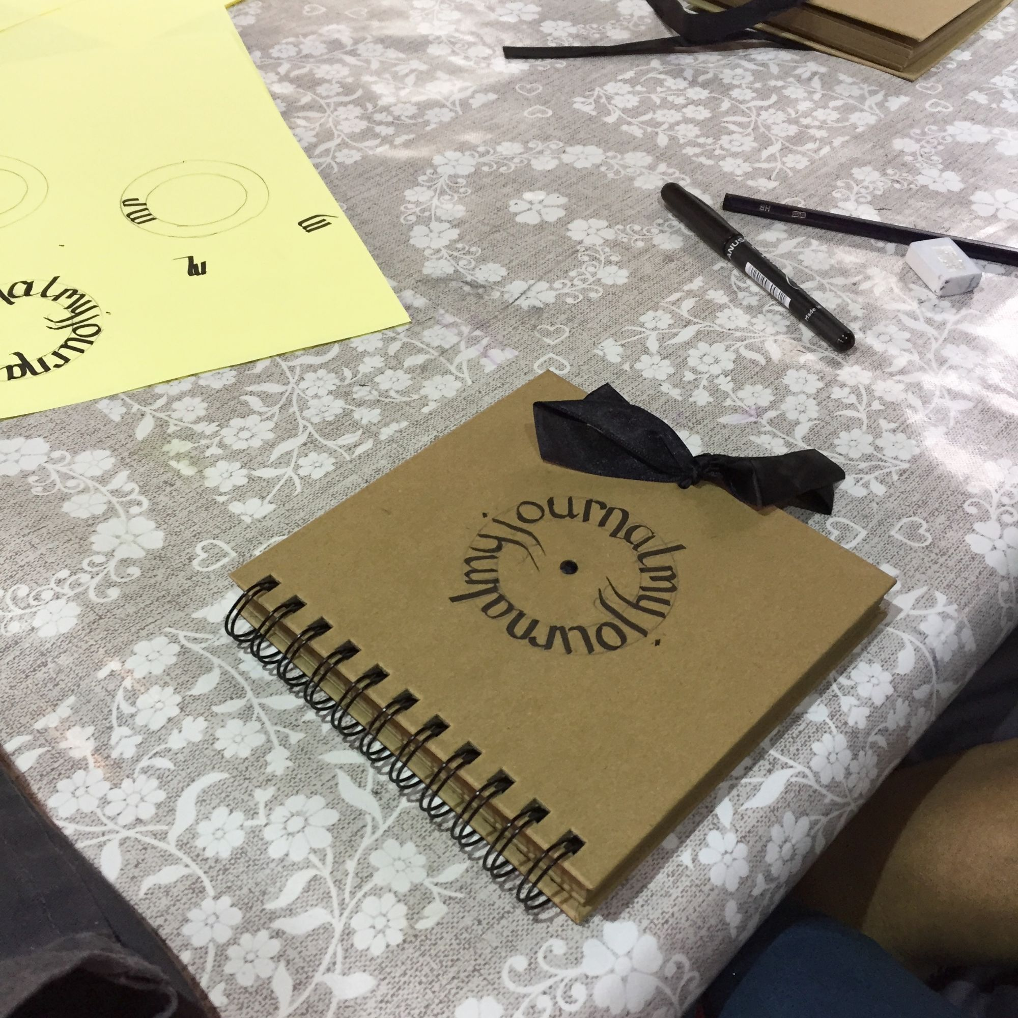 Calligraphy Workshop - Journal