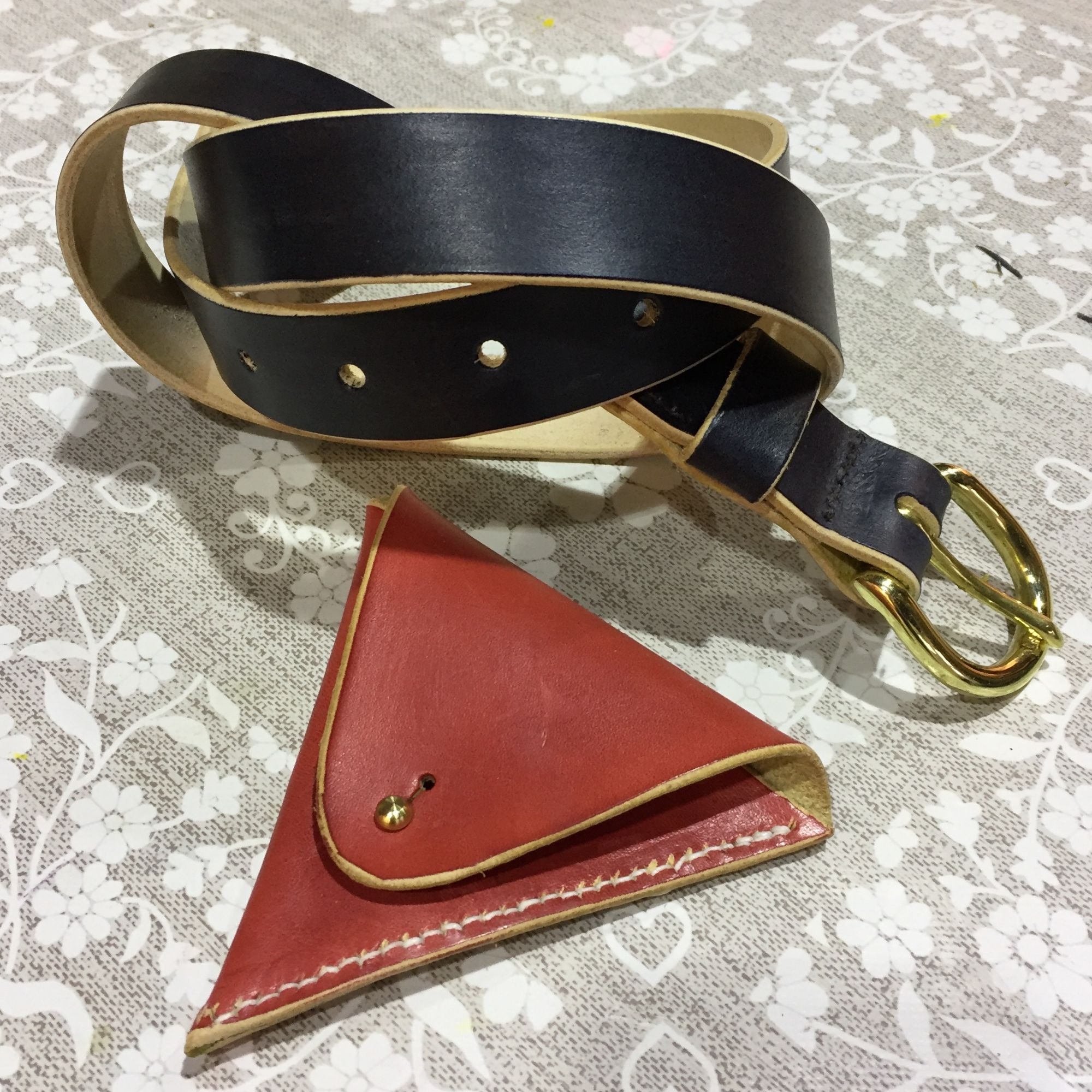 Leatherwork Workshop - Belt and Coin Purse