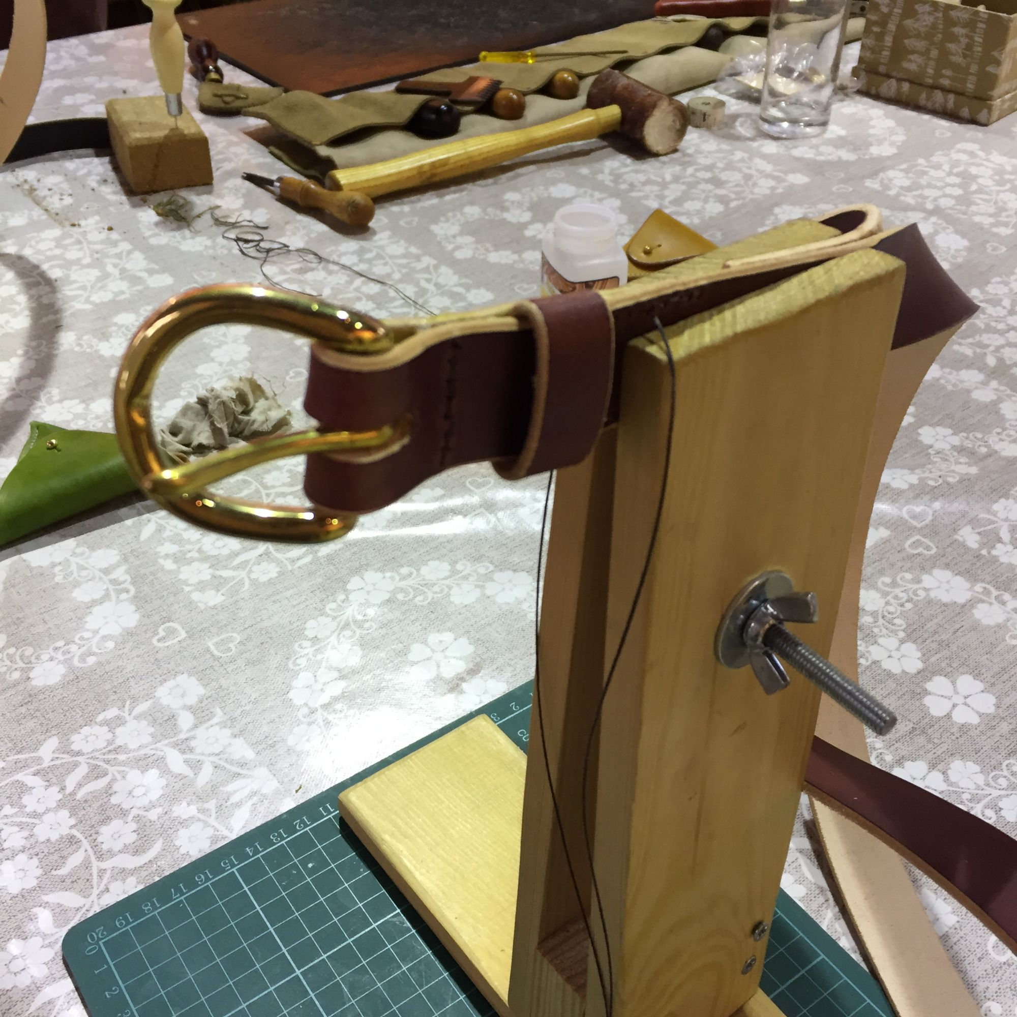 Leatherwork Workshop - Belt