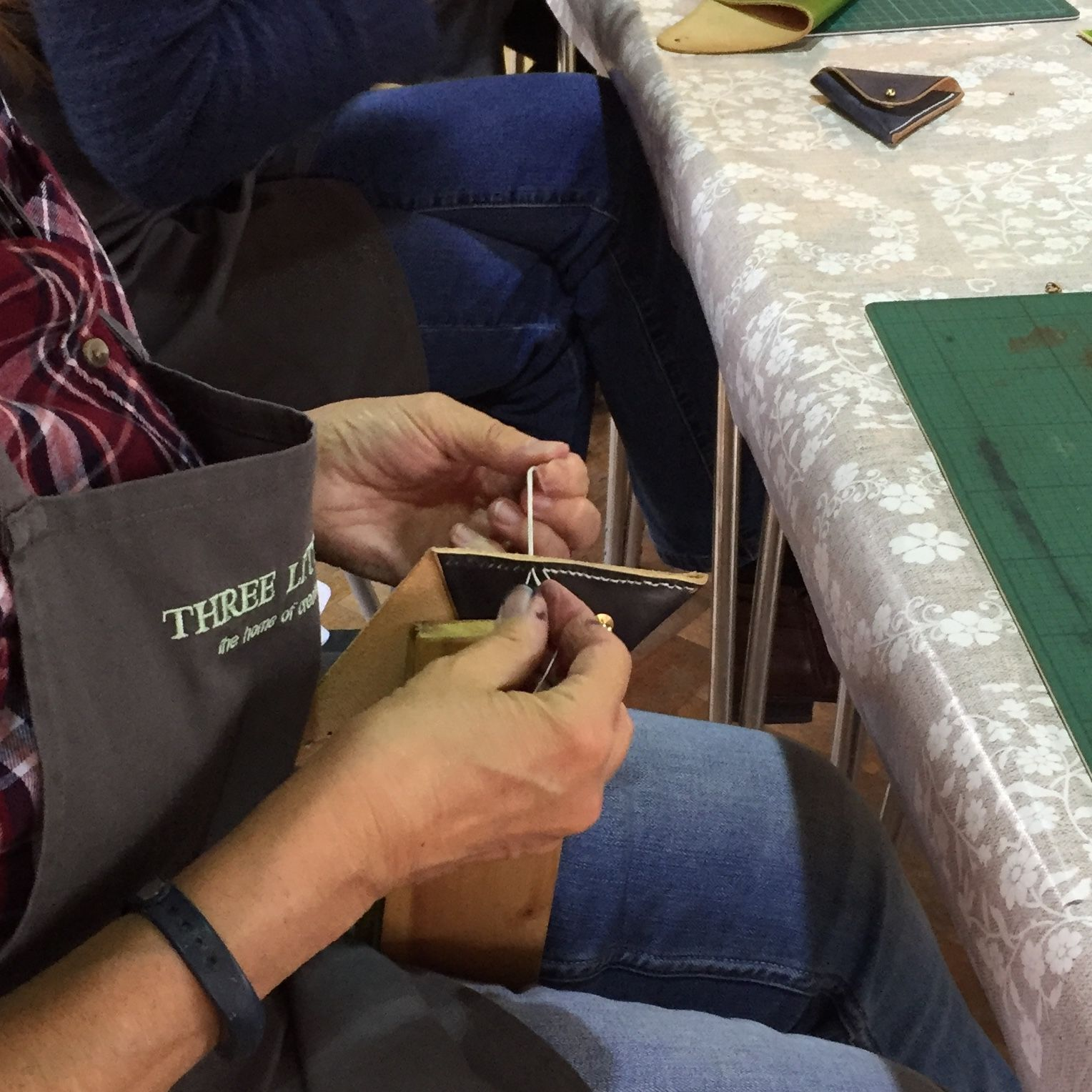Leatherwork Workshop - Stitching