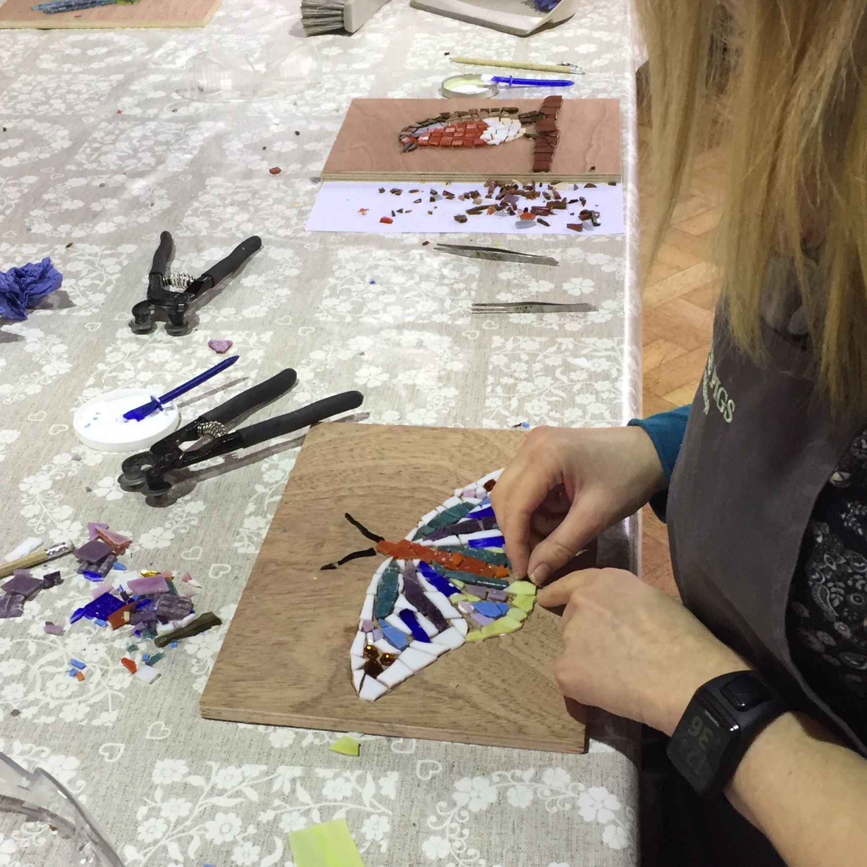 Mosaic Workshop - Workshopper