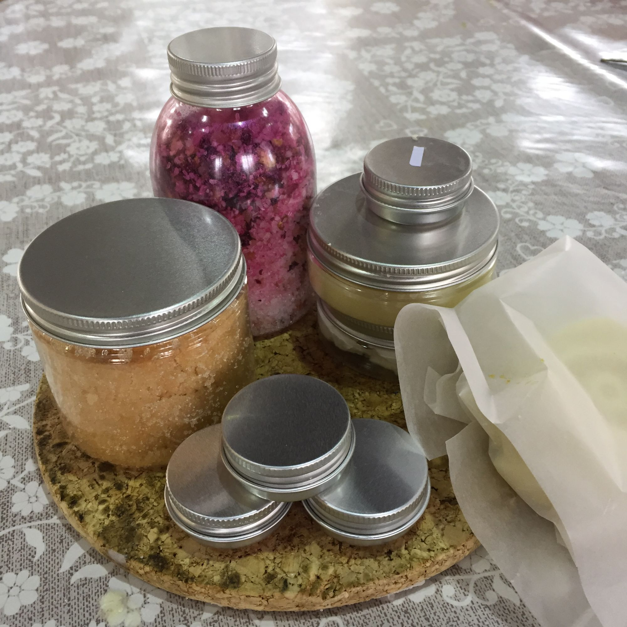 Salves, Soaks and Scubs Workshop - The Results