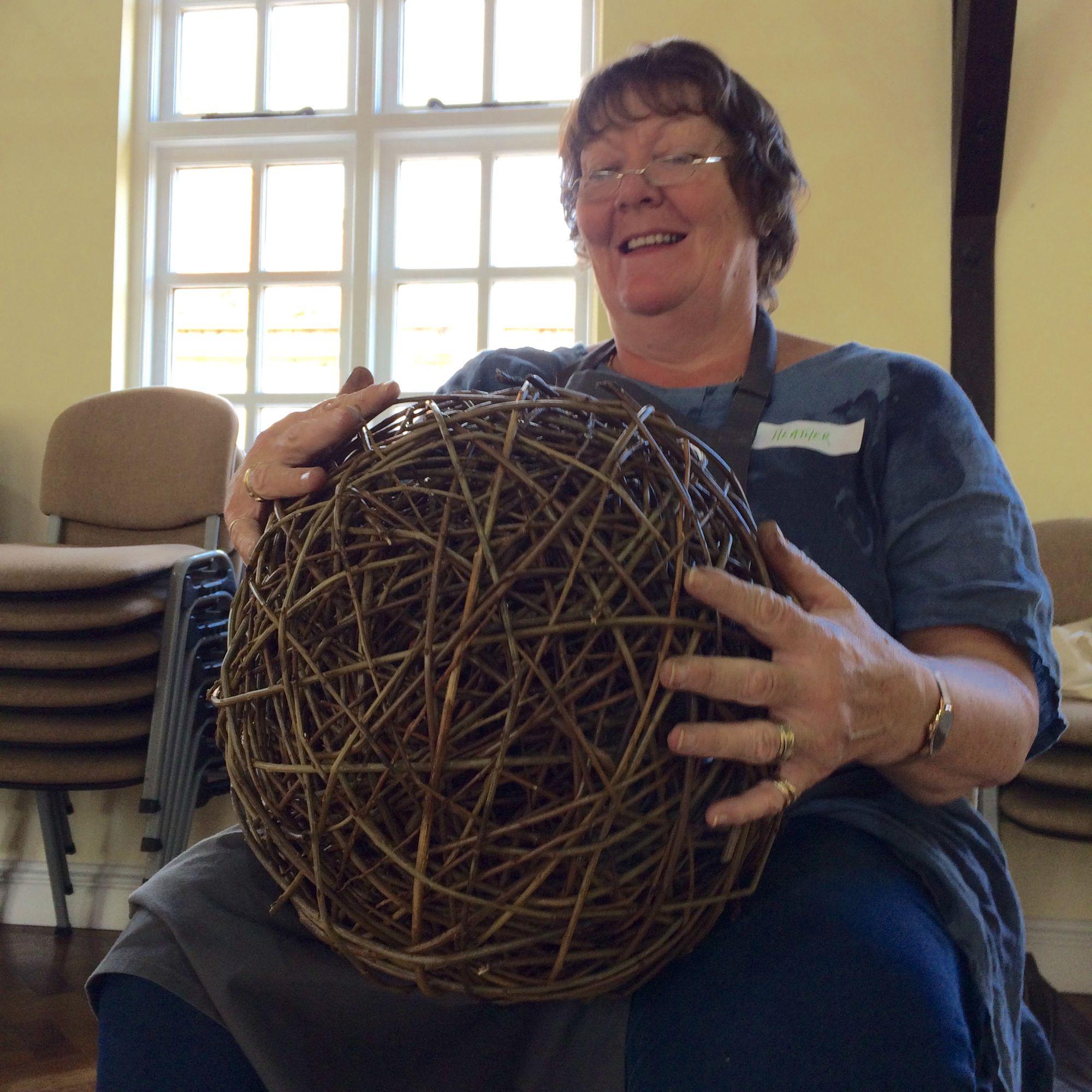 Willow Sphere Sculpture Workshop - Spheres