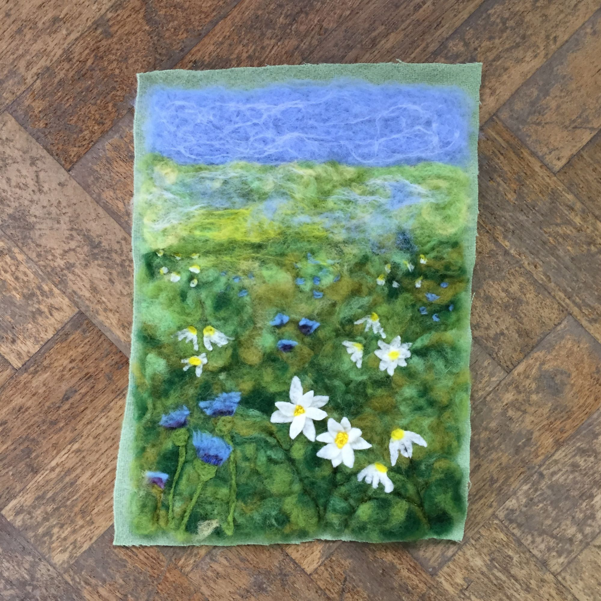 Picture Needle Felting Workshop - Landscape