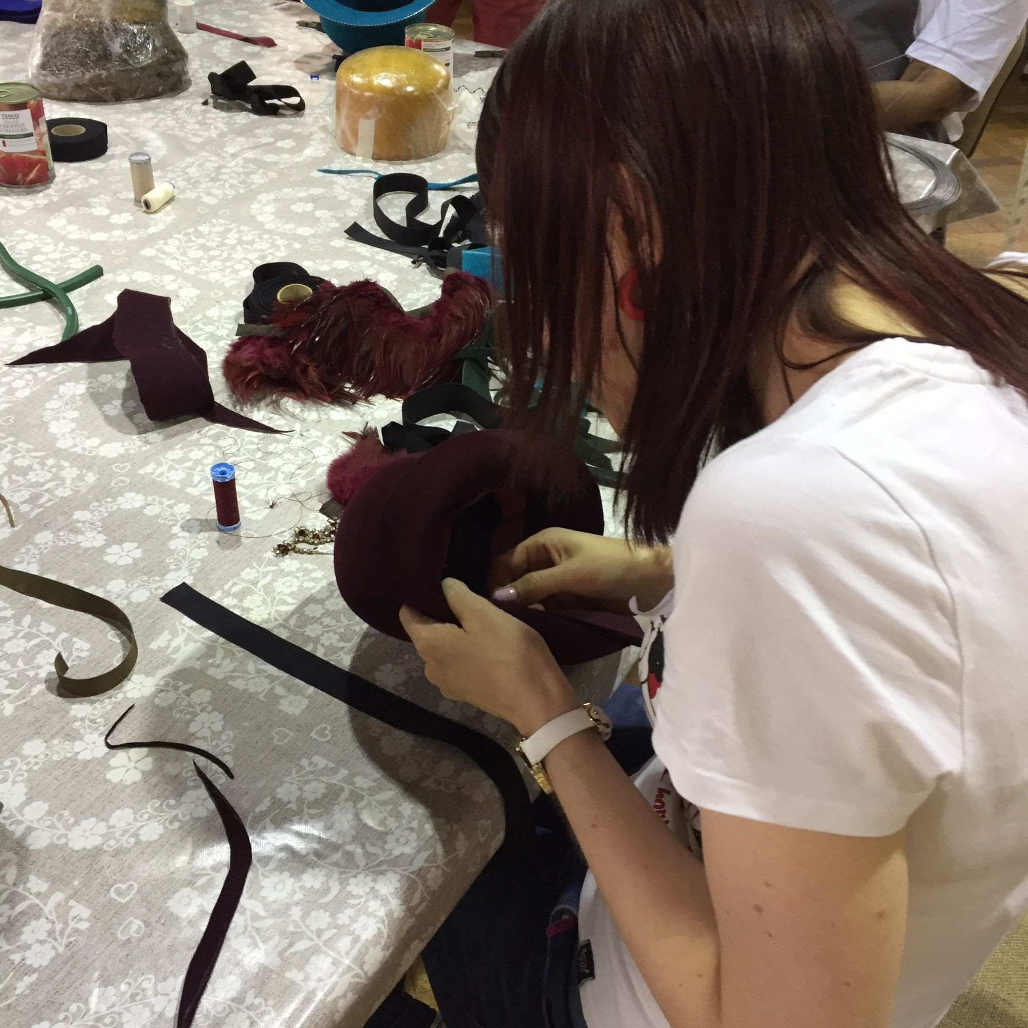 Millinery Workshop - Stitching