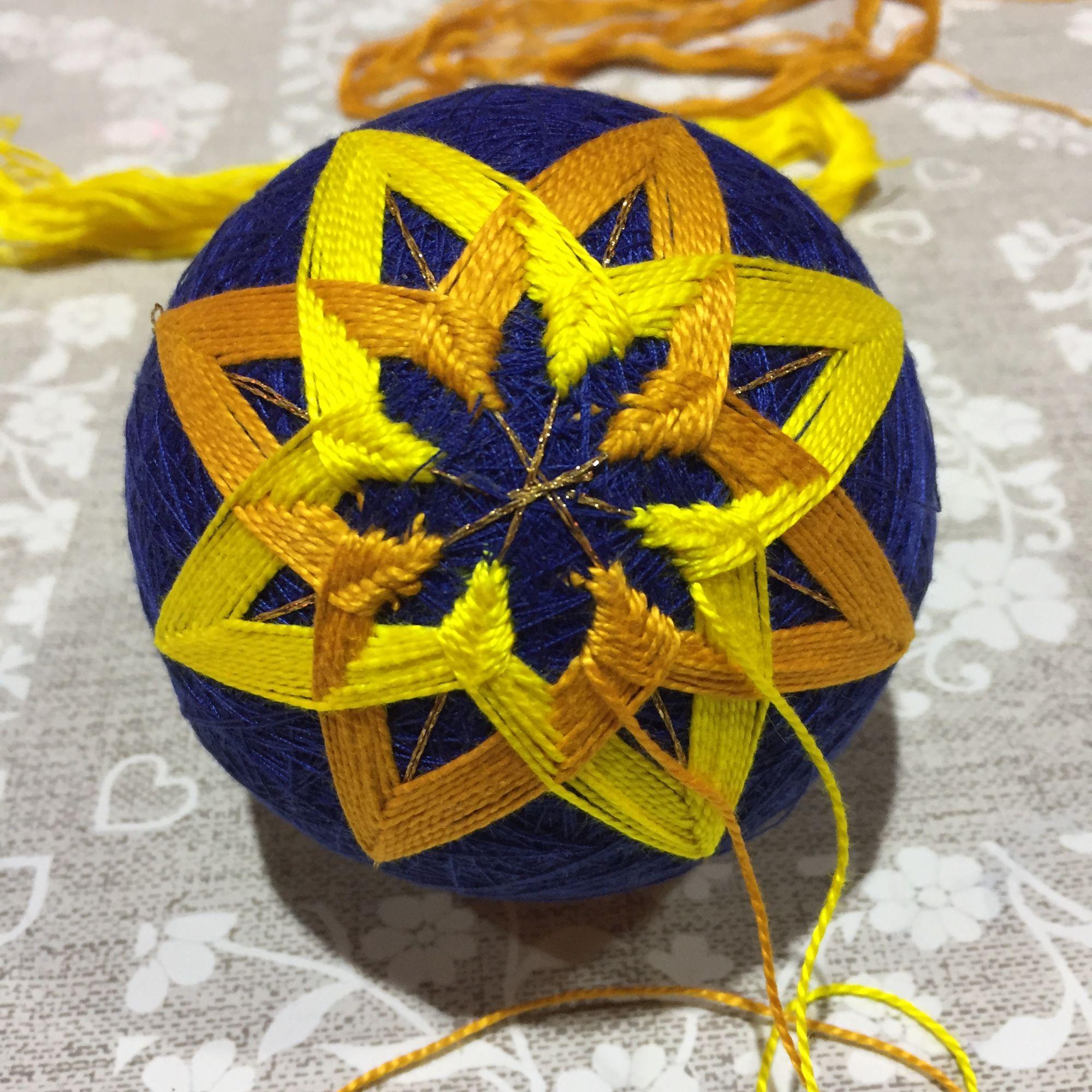 Temari Ball Making Workshop  - Celtic