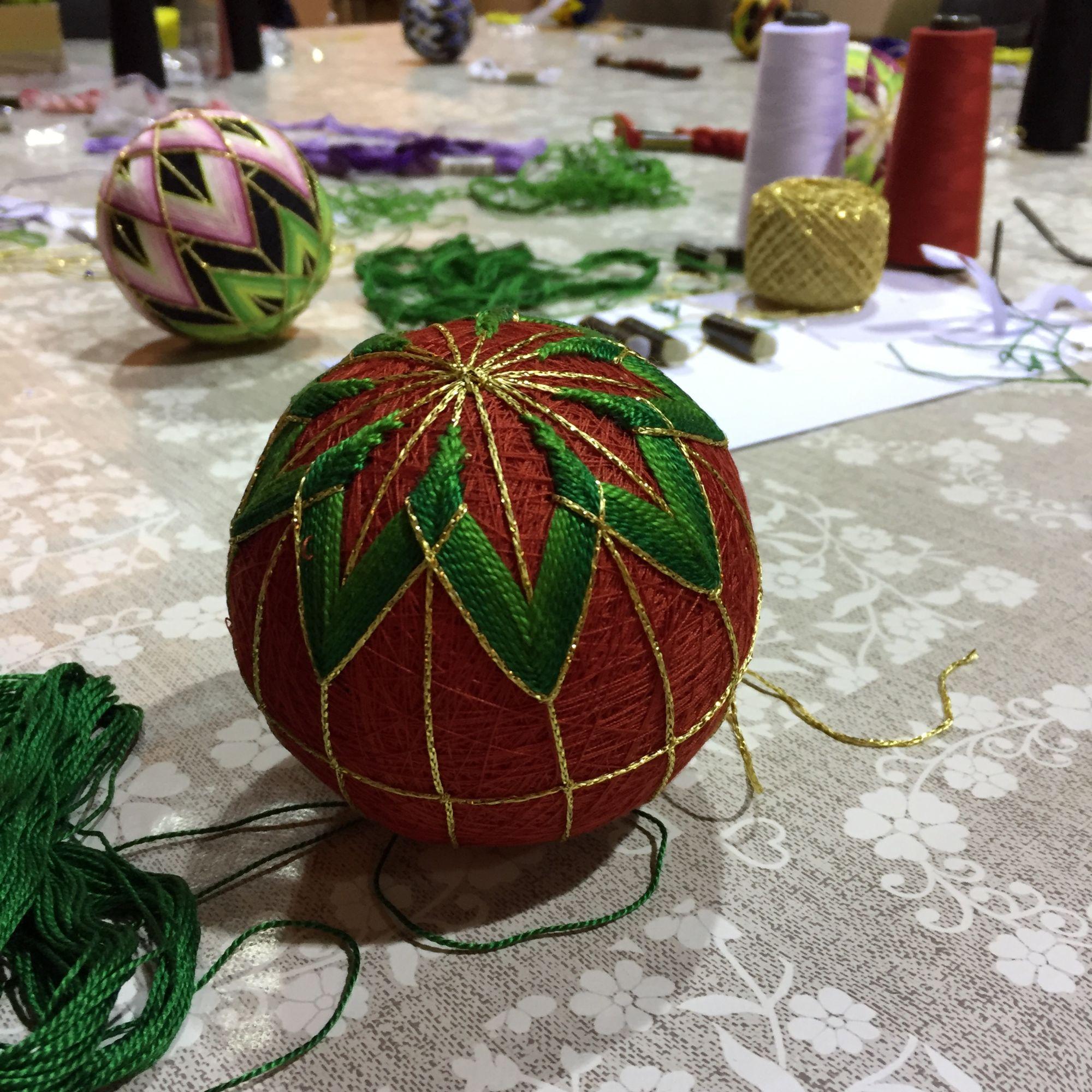 Temari Ball Making Workshop - Christmas Decorations