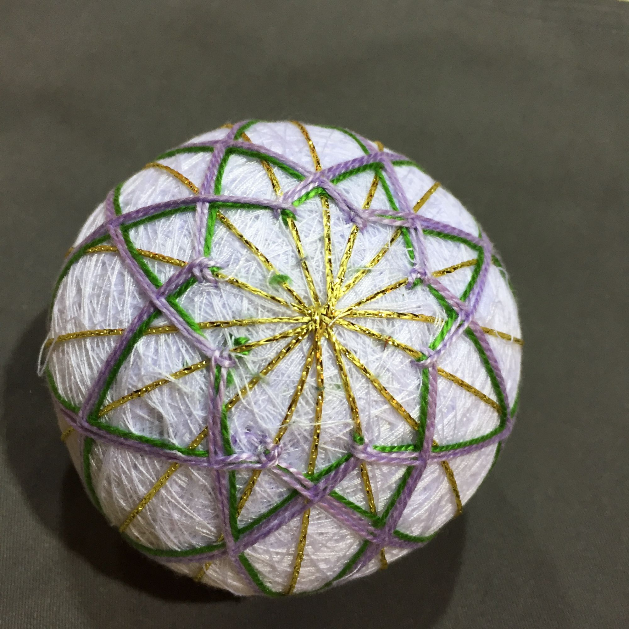 Temari Ball Making Workshop - Elegant
