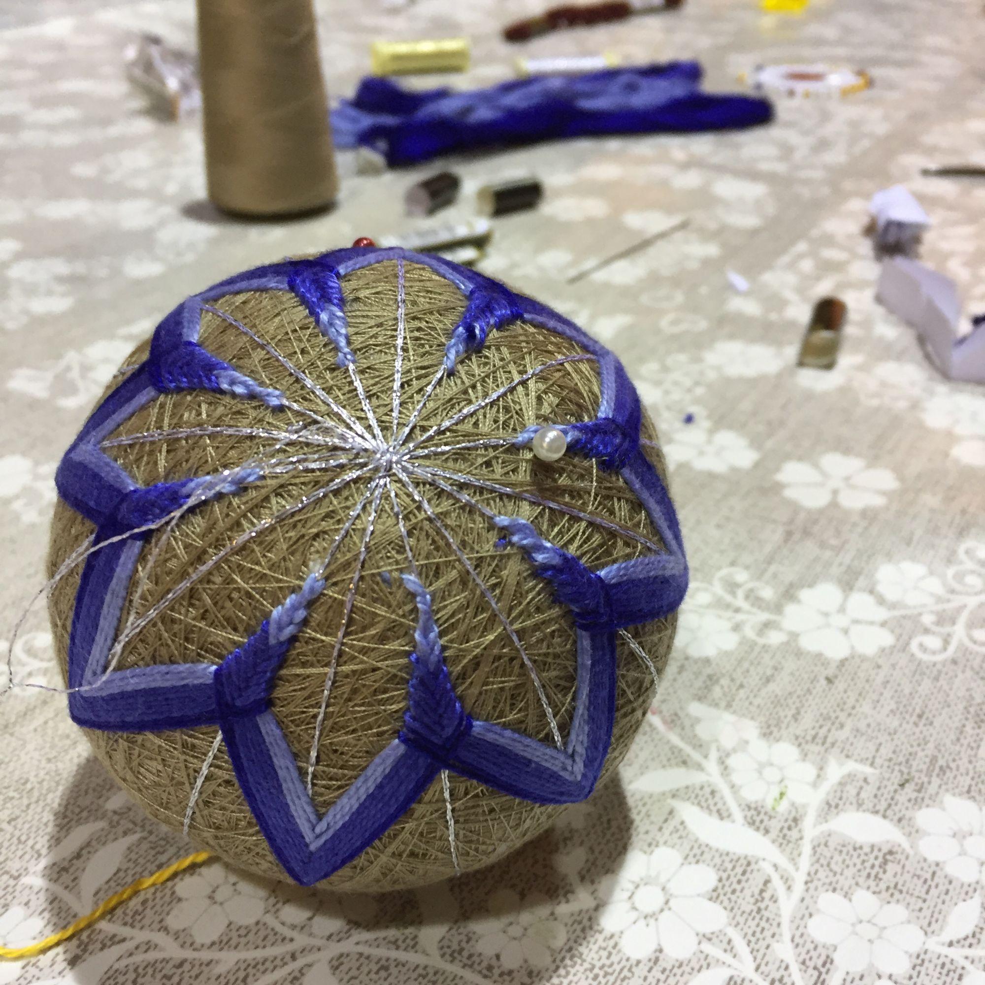 Temari Ball Making Workshop  - Starting