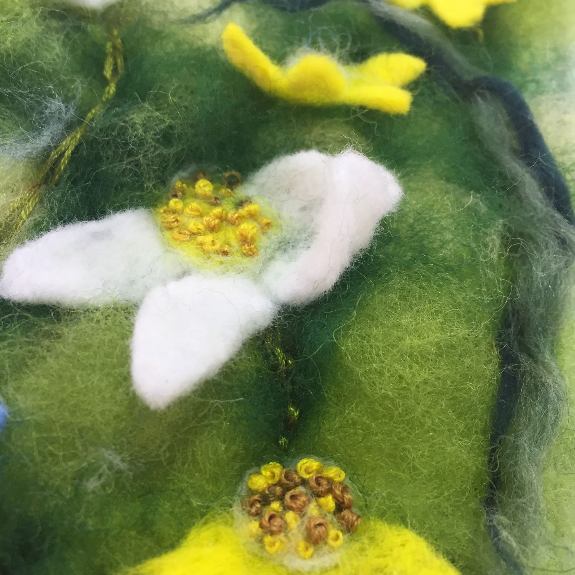 Picture Needle Felting Workshop - French Knots