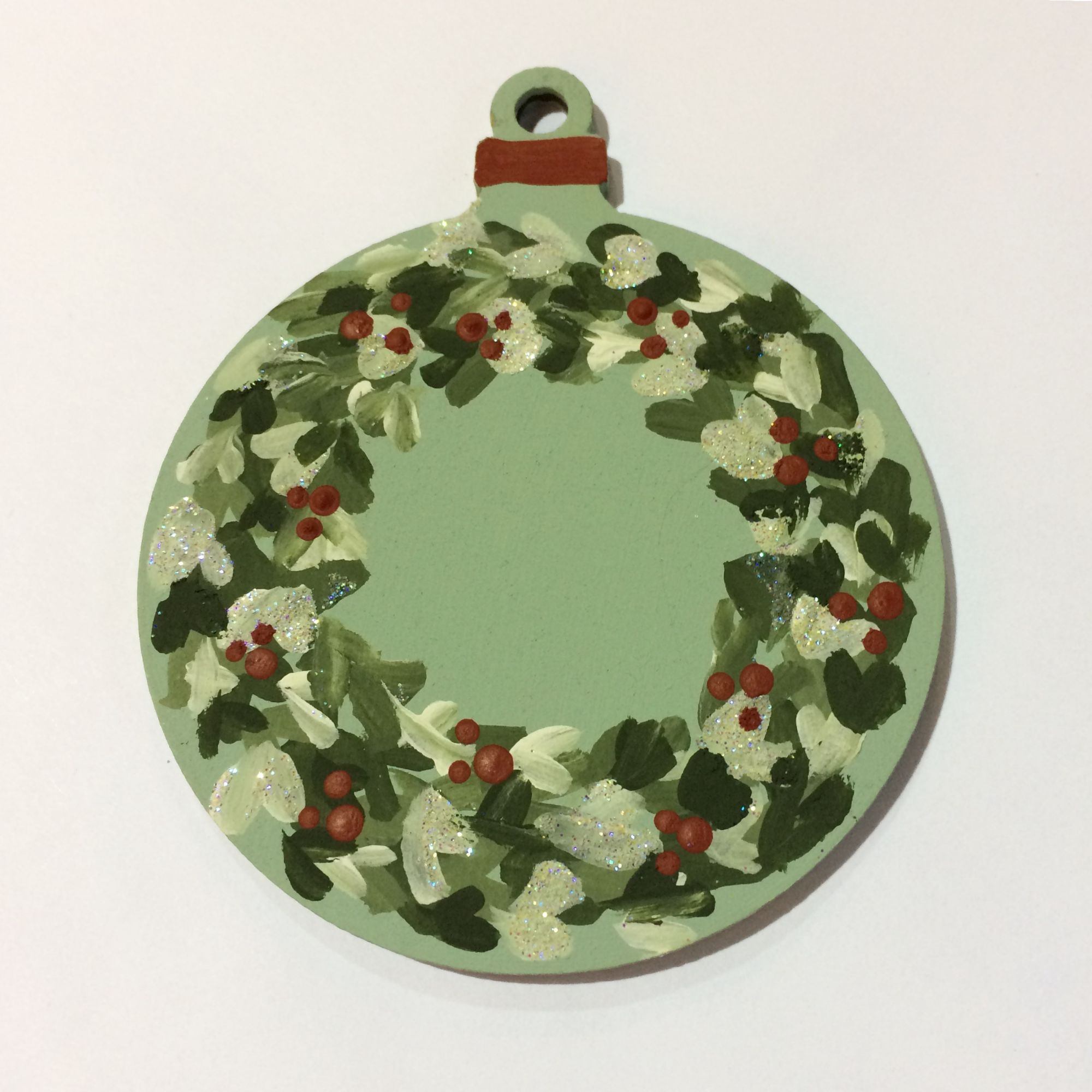 Festive Folk Art Painting Workshop - Tree Decorations