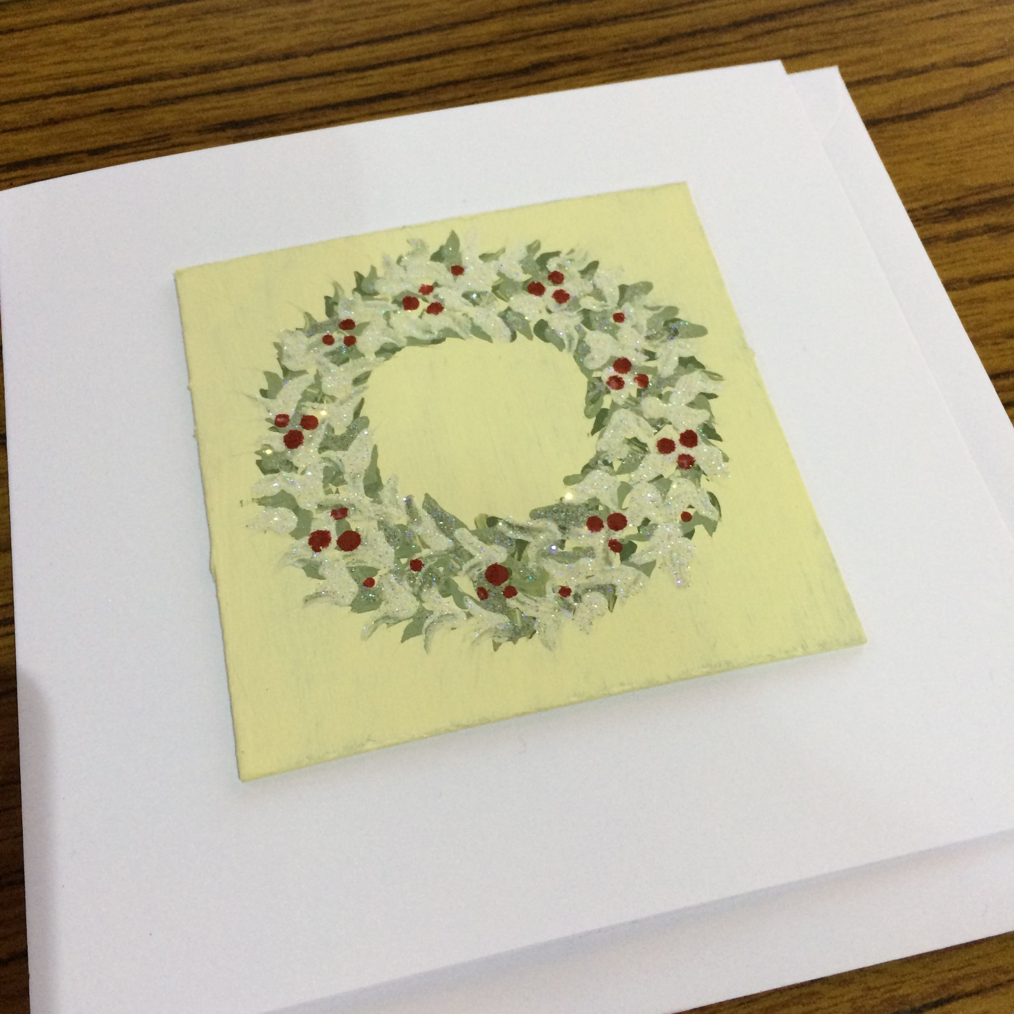 Festive Folk Art Painting Workshop - Christmas Wreath