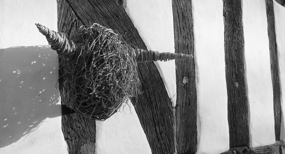 <!-- 097 --> Willow Highland Cow's Head Sculpture Workshop - Saturday 4th A
