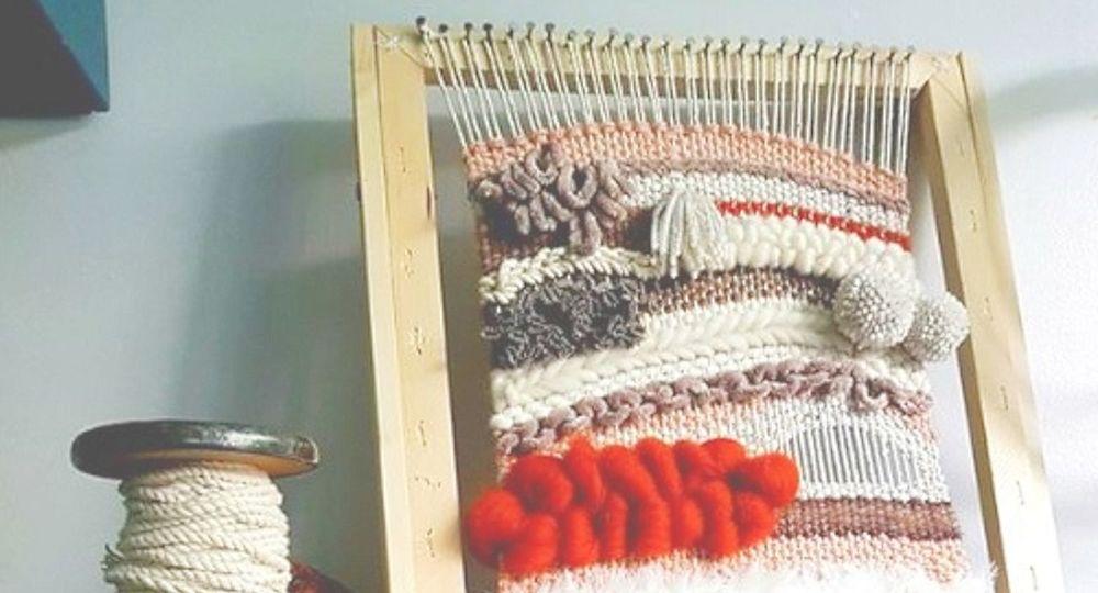 <!-- 022 --> Loom Weaving Workshop - Saturday 16th May 2020