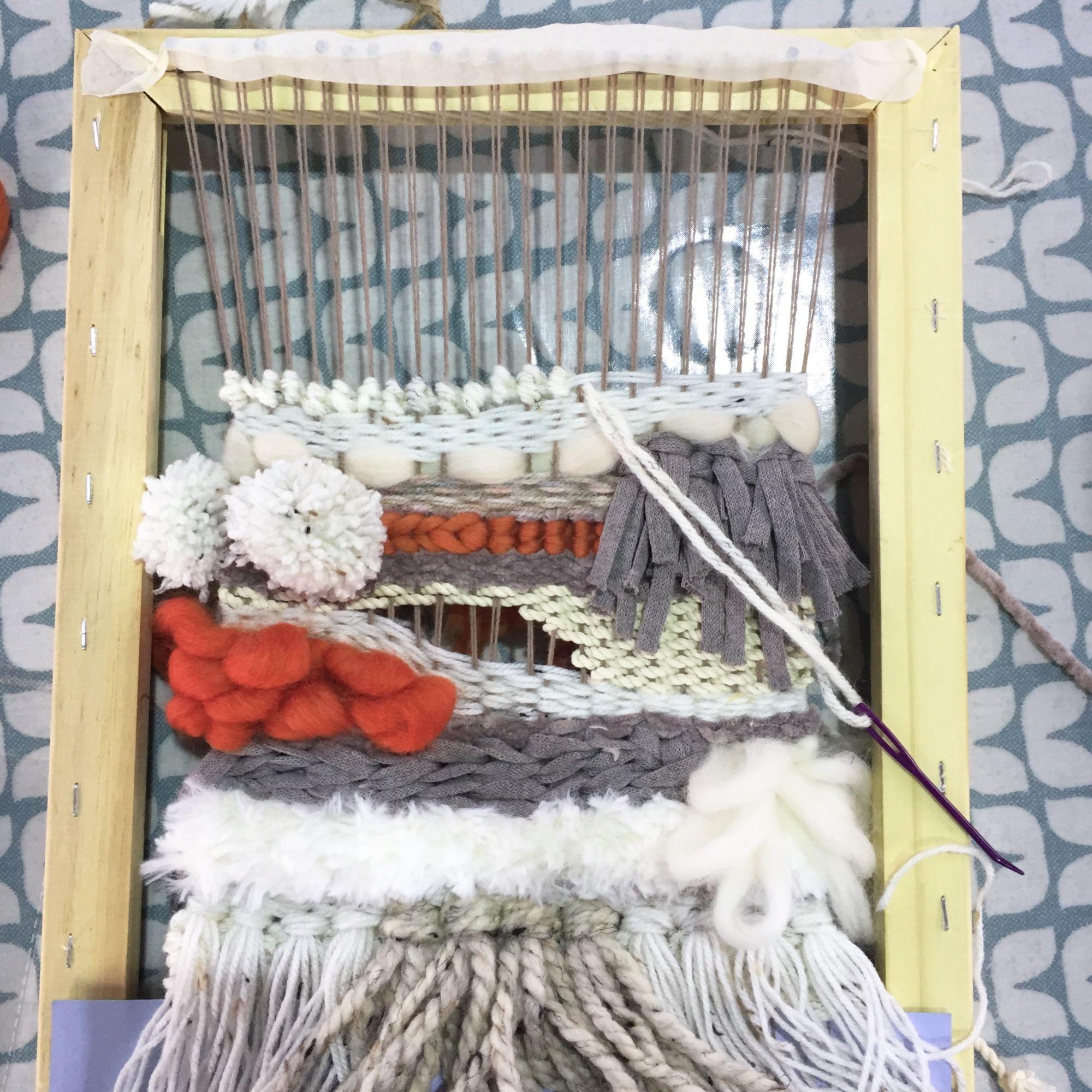 Loom Weaving Workshop - Frame