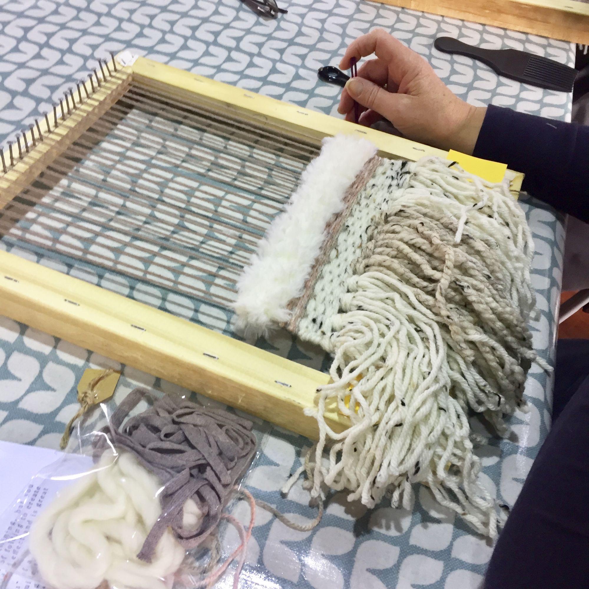 Loom Weaving Workshop - Layers