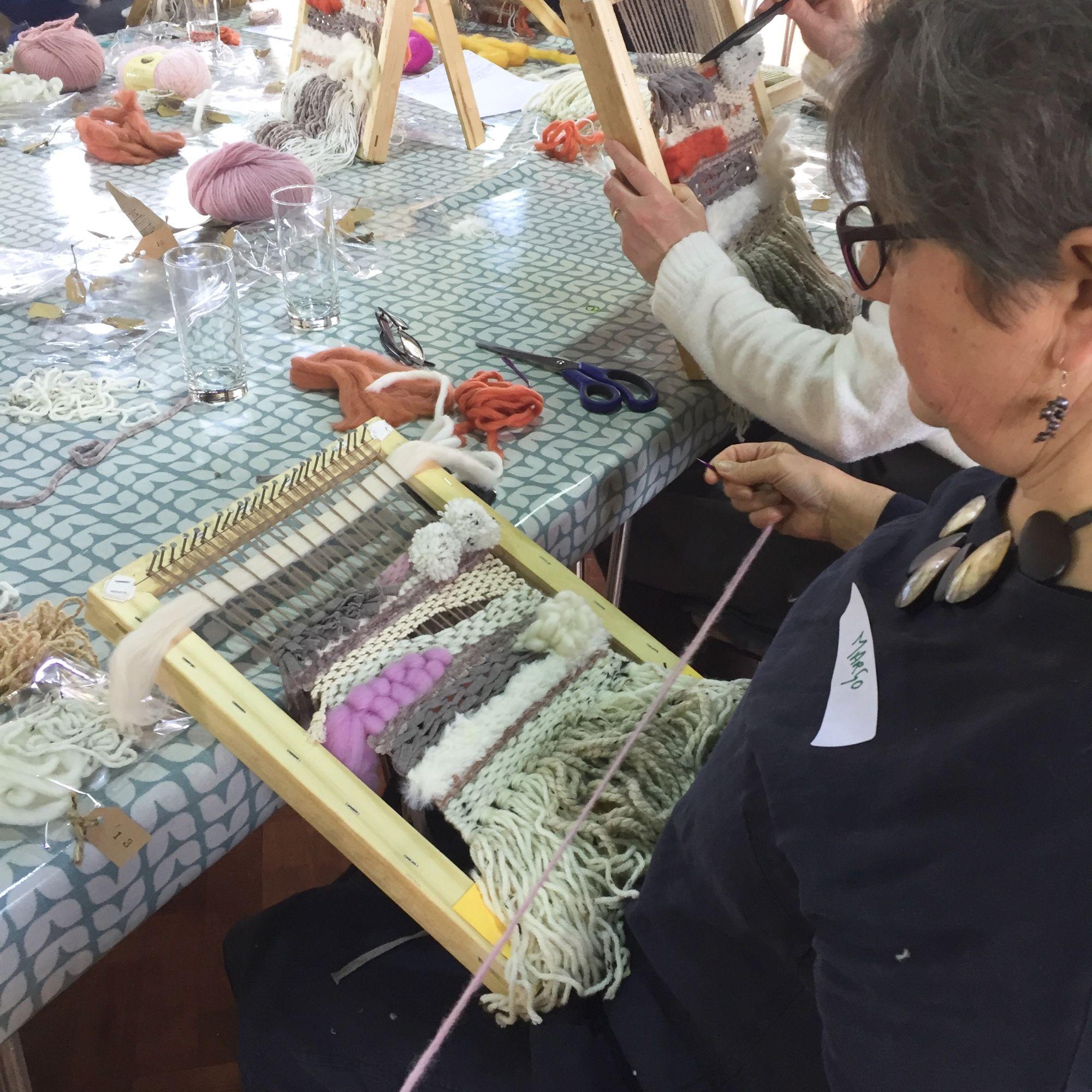 Loom Weaving Workshop - Textures