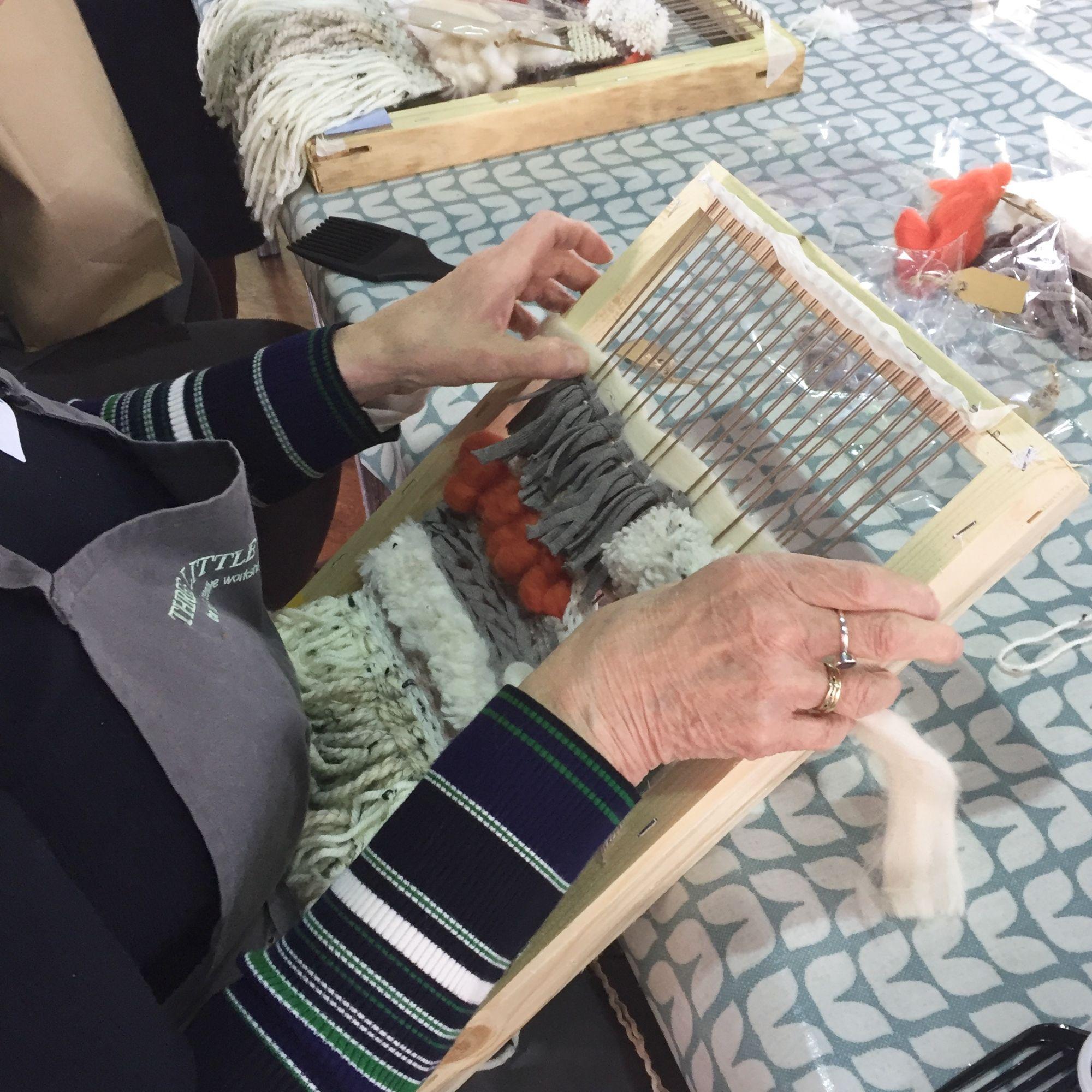 Loom Weaving Workshop - Beginners