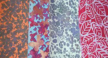 'Paper Decoration with Stencils' Online Tutorial