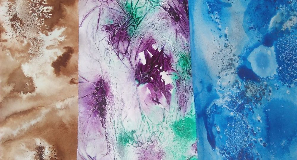 <!-- 002 --> 'Paper Decoration with Acrylic Inks' Online Tutorial