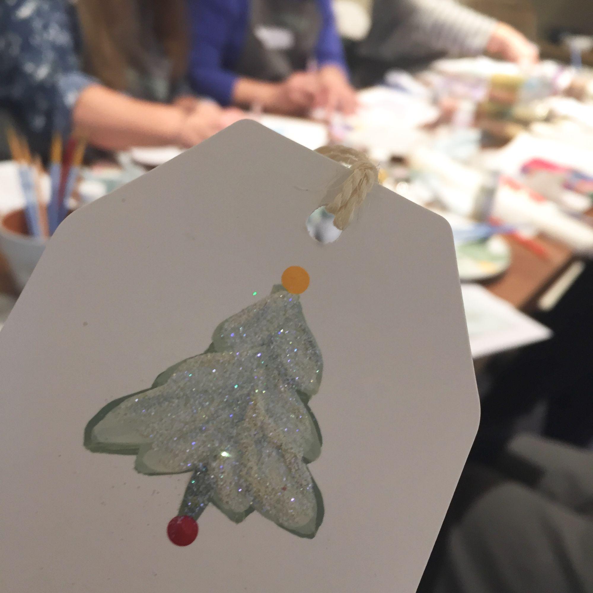Festive Folk Art Painting Workshop - Gigt Tag