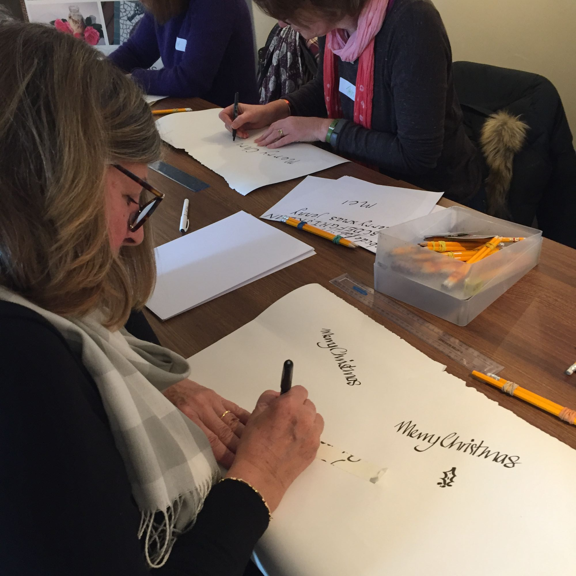 Christmas Calligraphy Workshop - Beginners