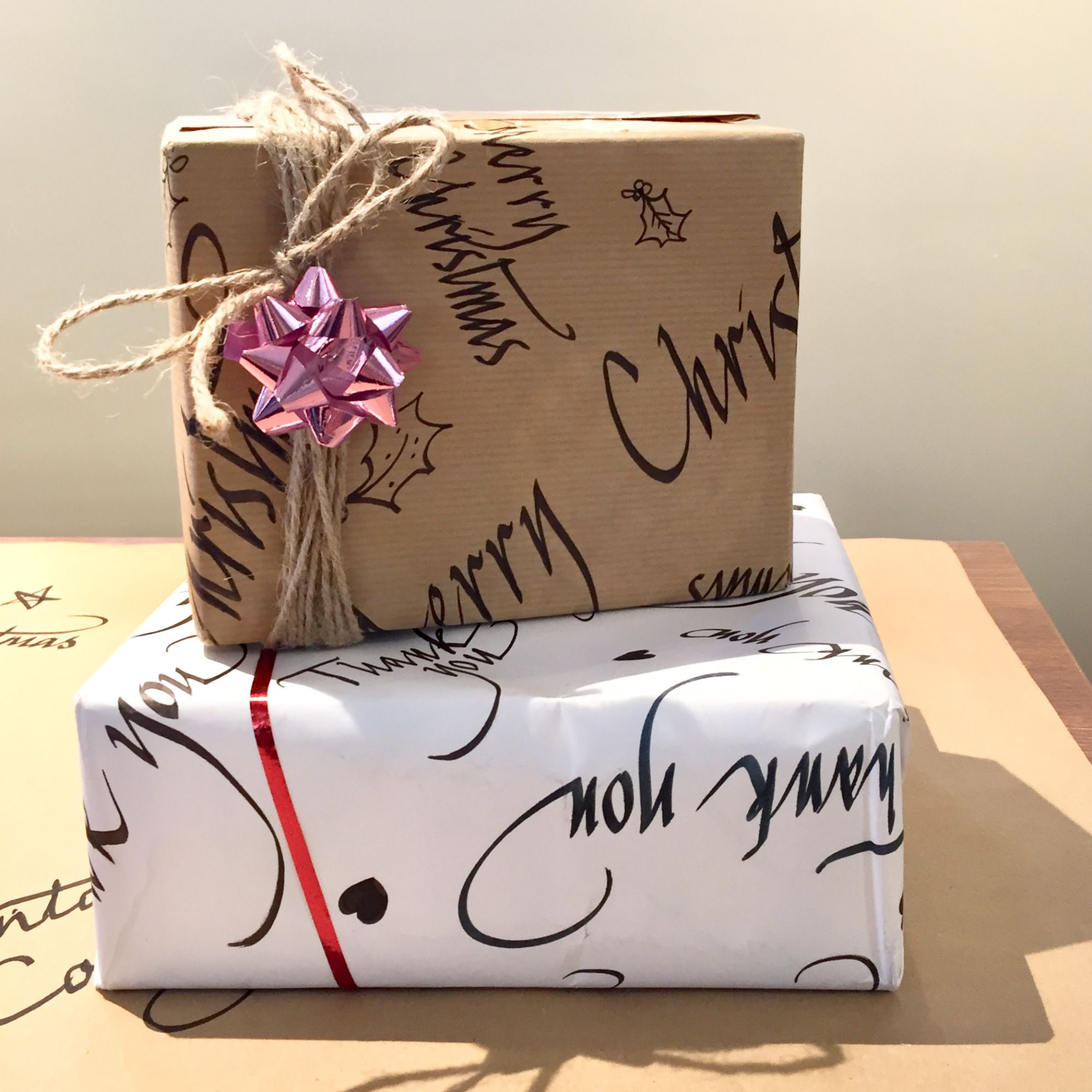 Christmas Calligraphy Workshop - Gift Wrapping
