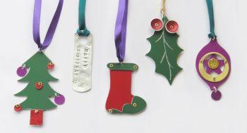 Christmas Decorations Workshop - Saturday 5th December 2020