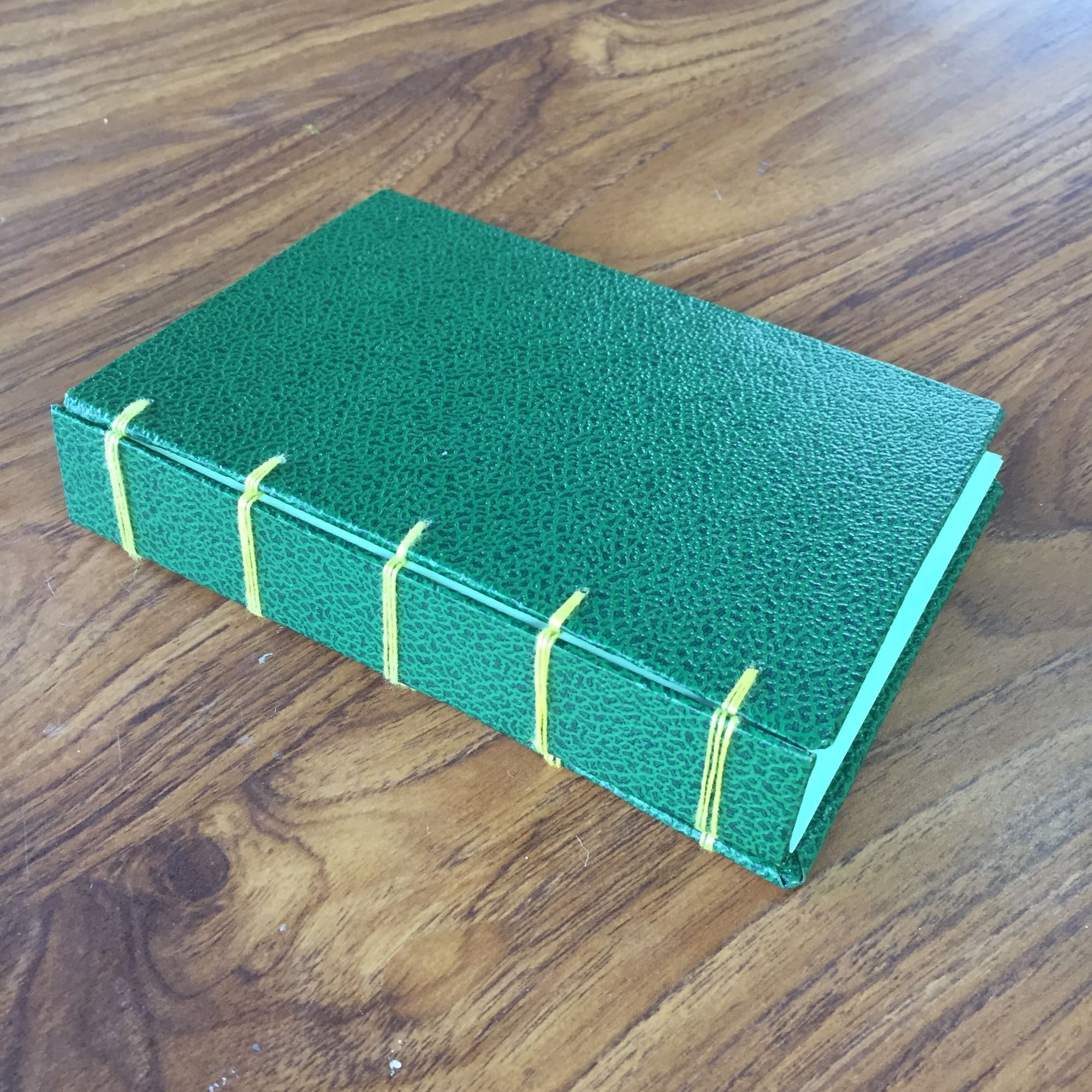Secret Belgian Bookbinding Workshop - Notebook