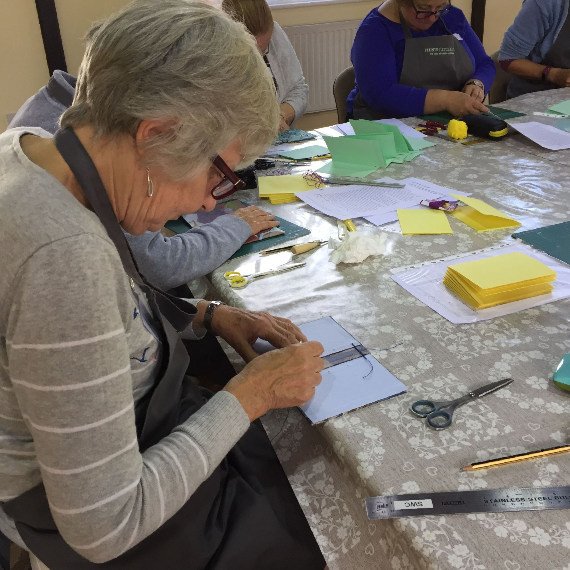 Secret Belgian Bookbinding Workshop - Workshoppers