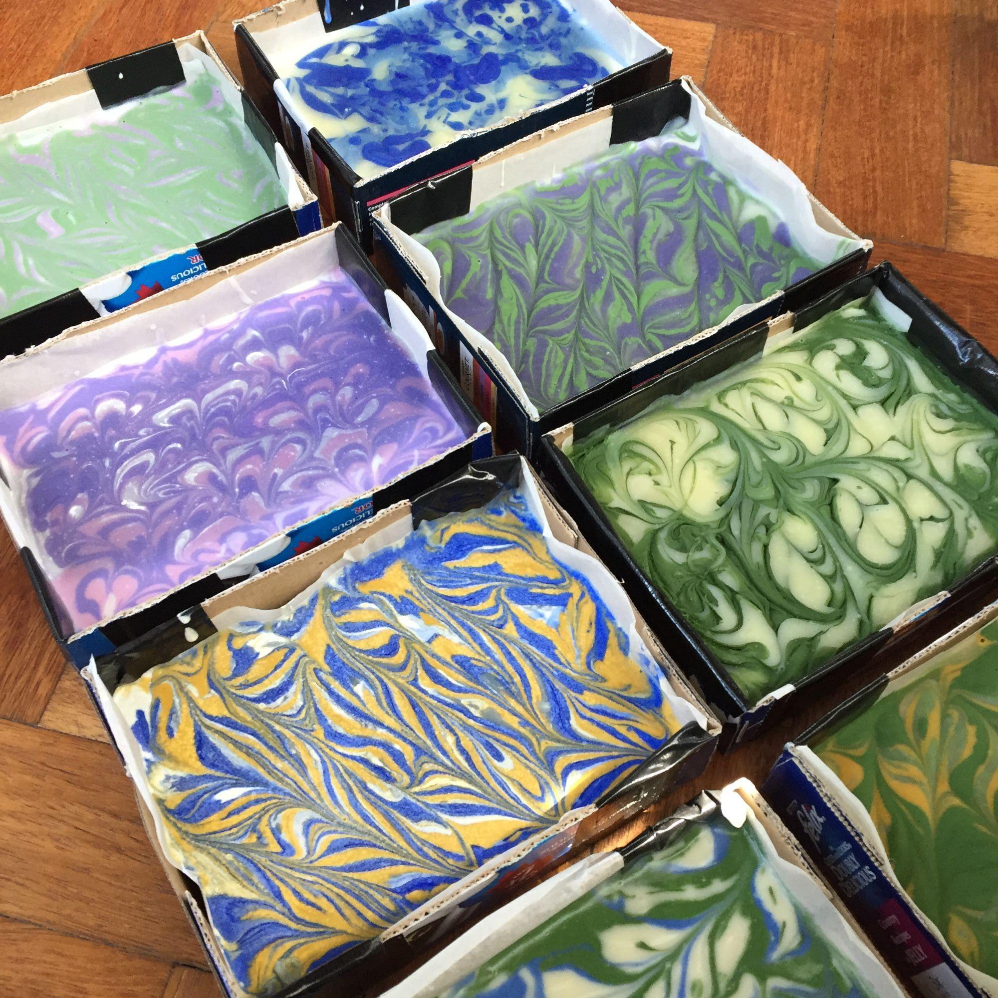 Soap Making Workshop - Swirls