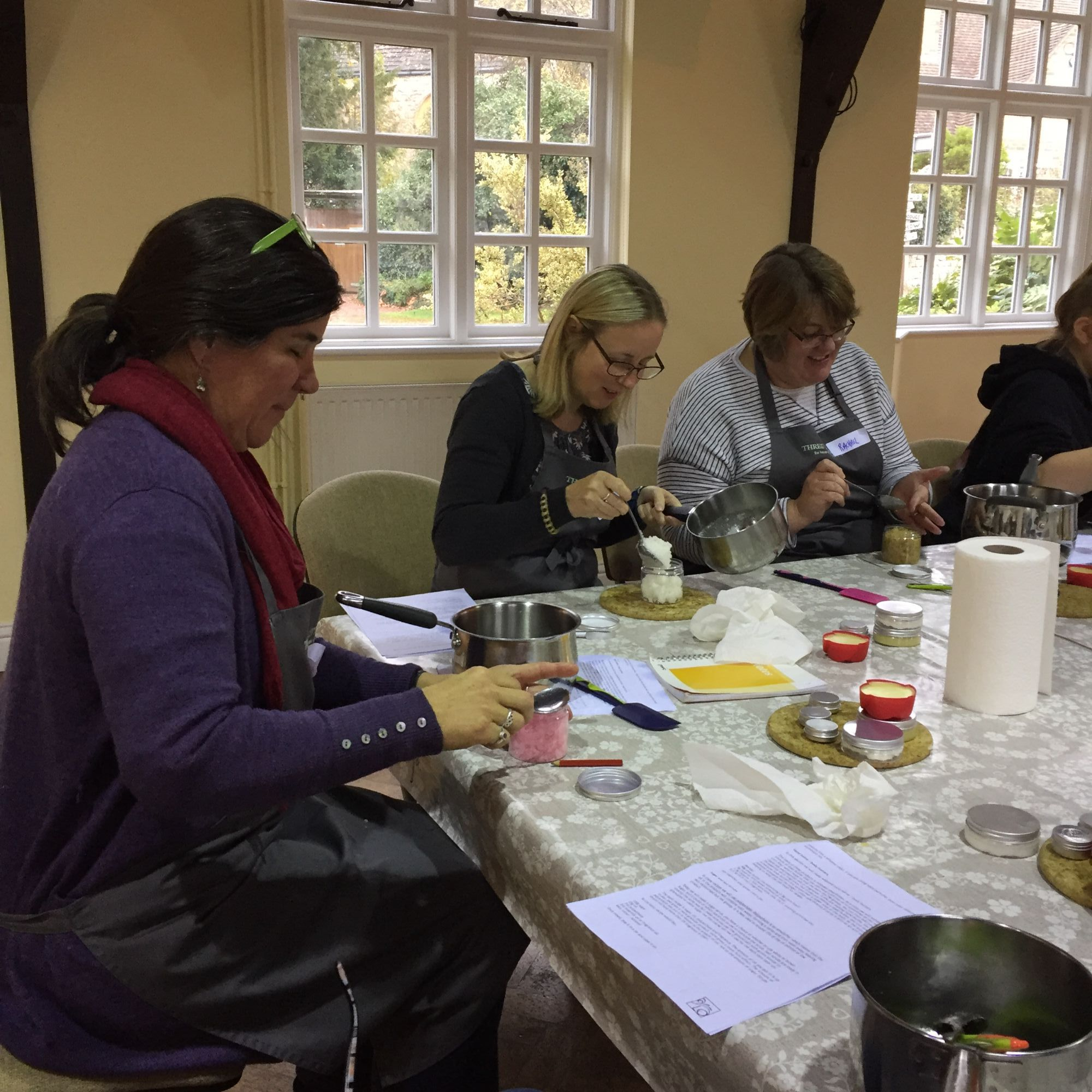 Bath and Body Products Workshop - Measuring