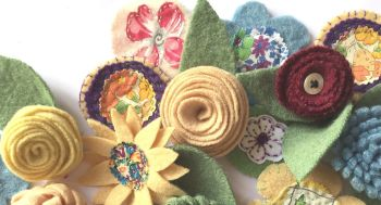 Fabric Flowers Workshop - Sunday 16th May 2021