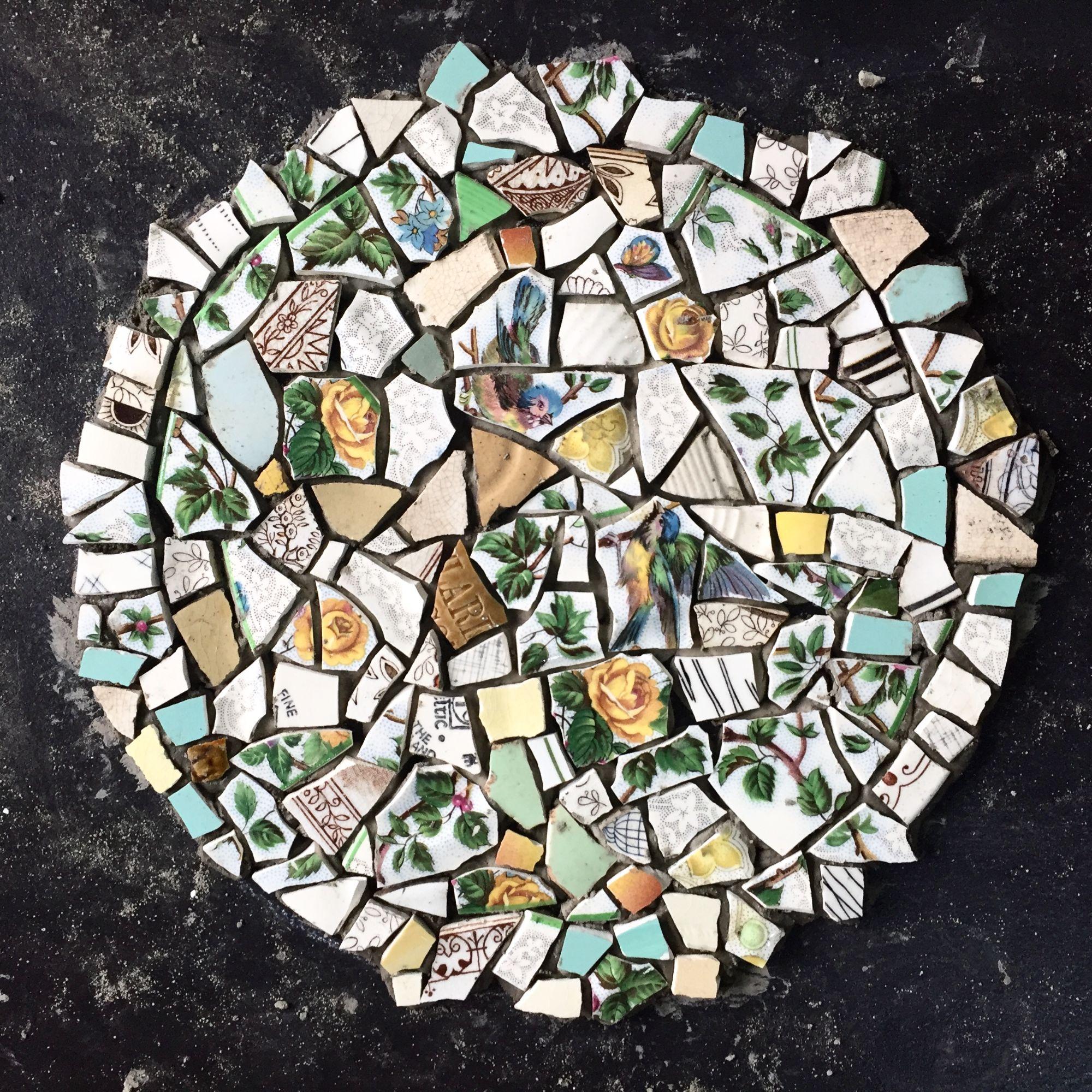 Crockery Mosaic Workshop - Circle