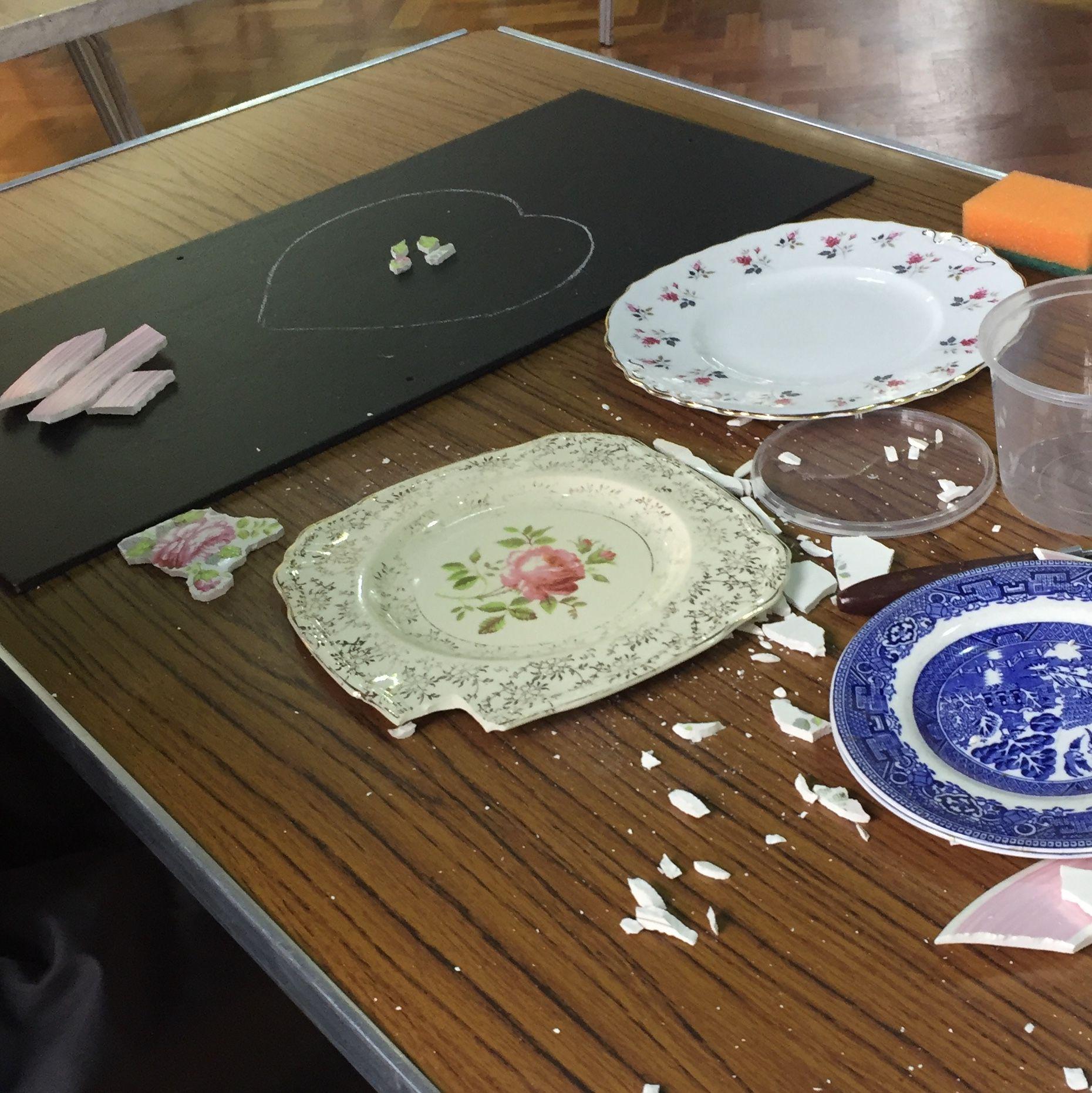 Crockery Mosaic Workshop - Plates