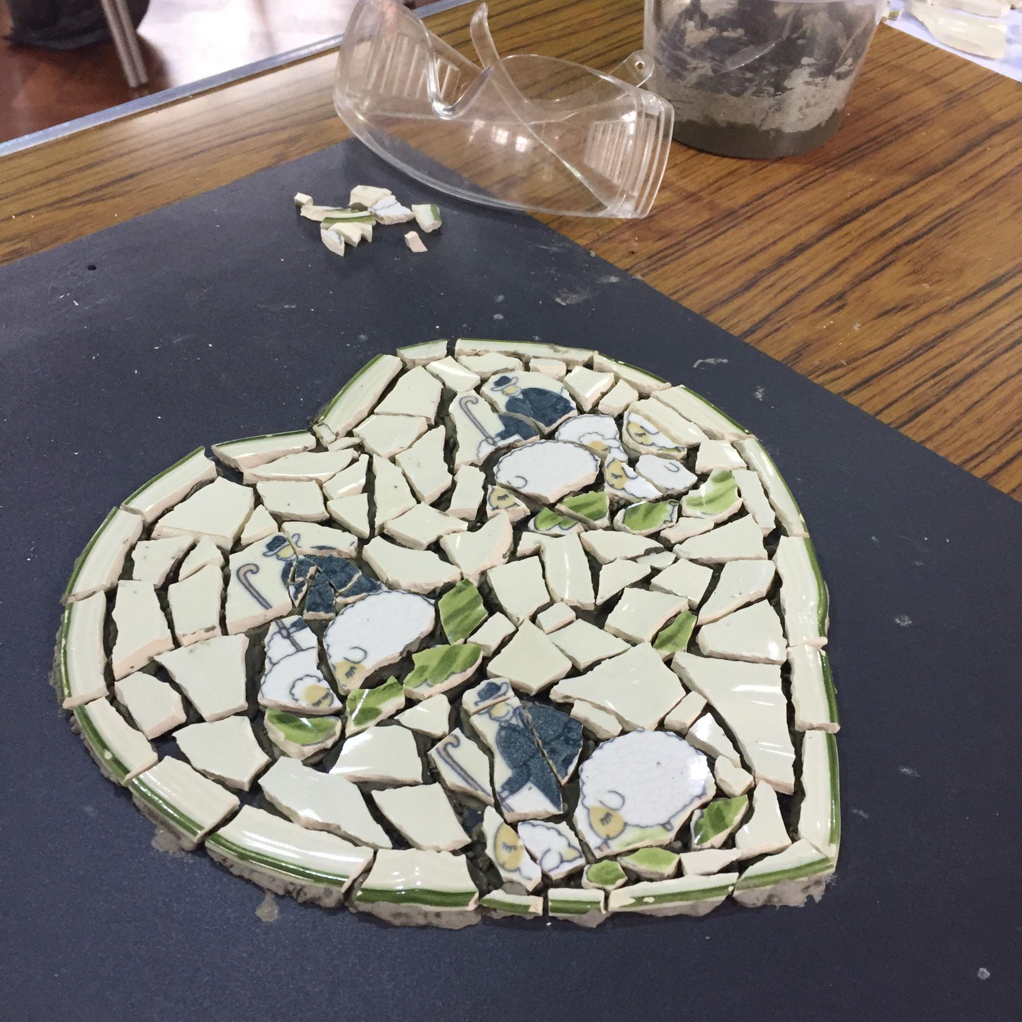 Crockery Mosaic Workshop - Treasured Plates