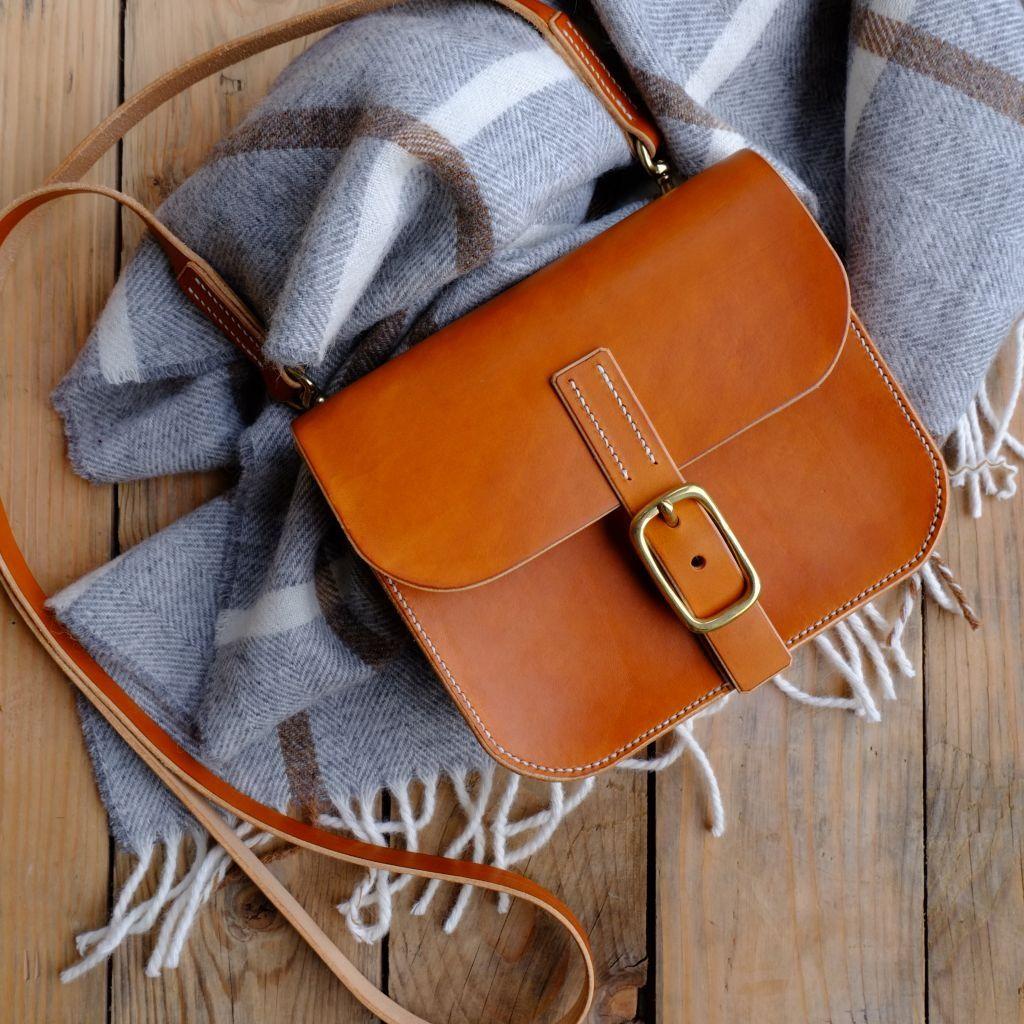 Mini Leather Satchel Workshop