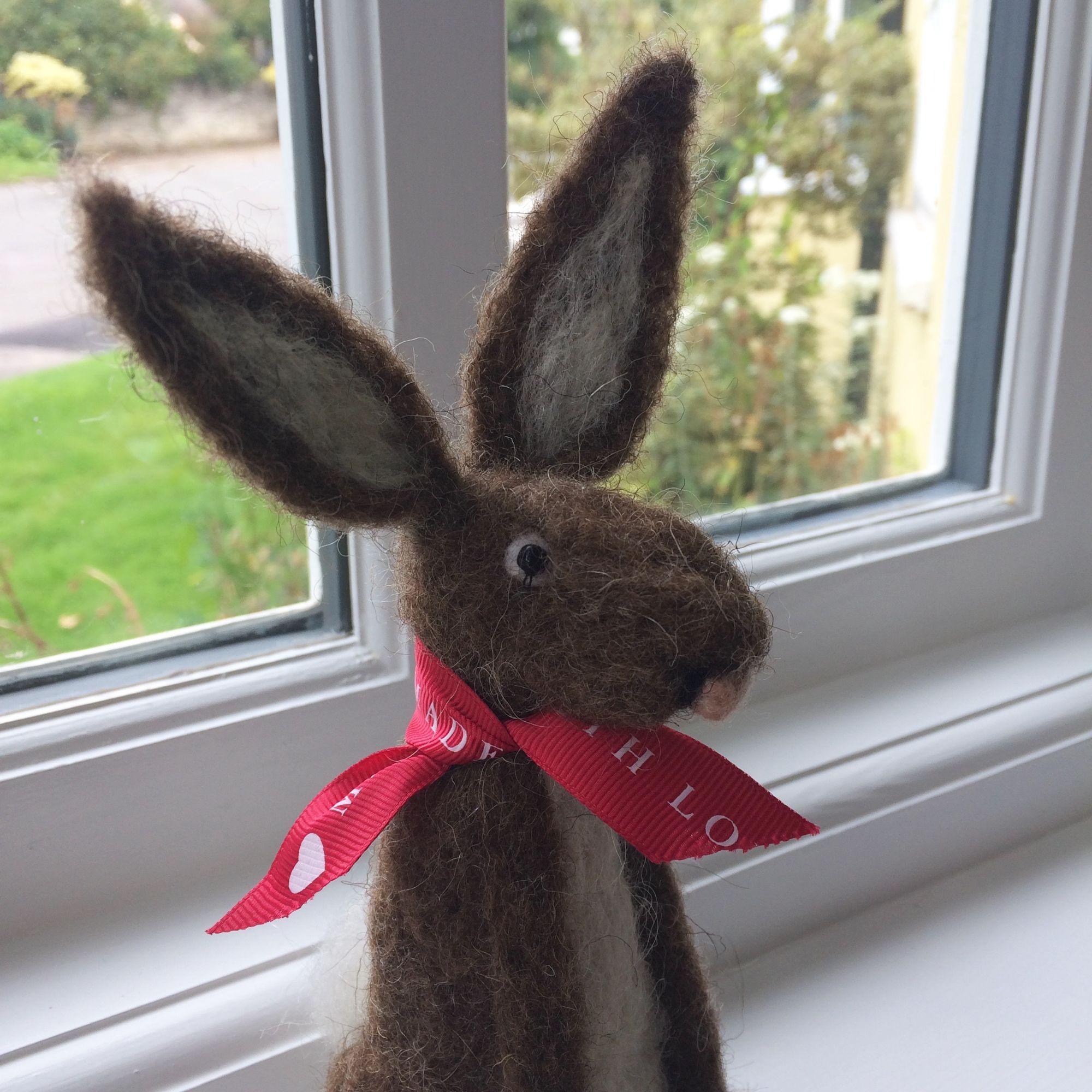 Hare Needle Felting Workshop - Handsome Hare