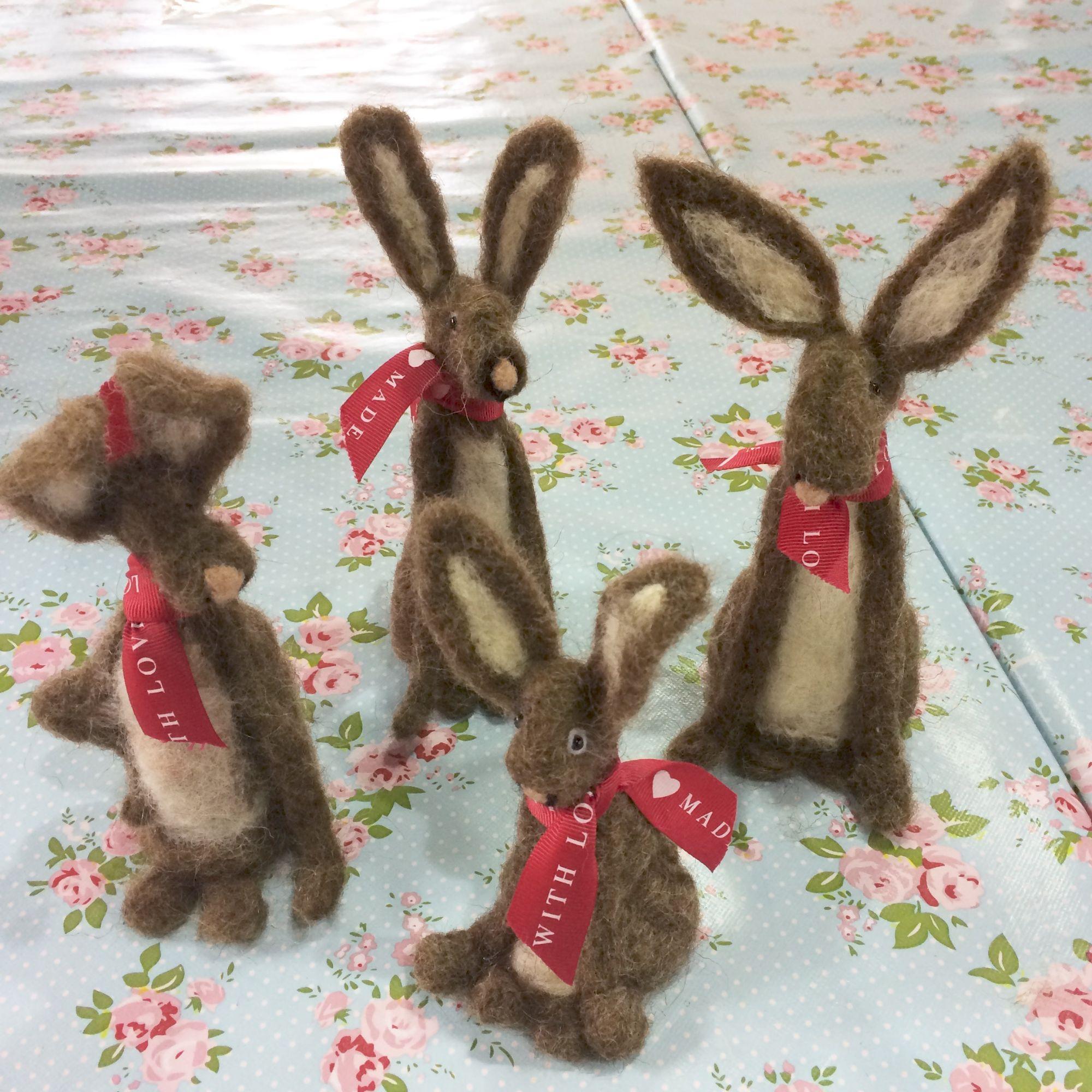 Hare Needle Felting Workshop - Drove