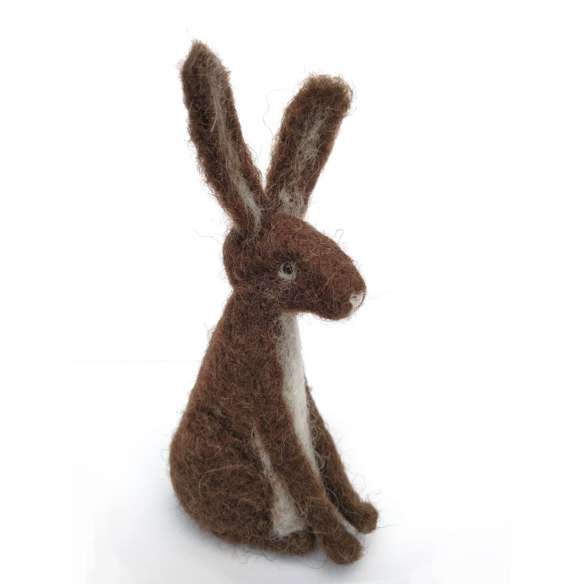 Hare Needle Felting Workshop