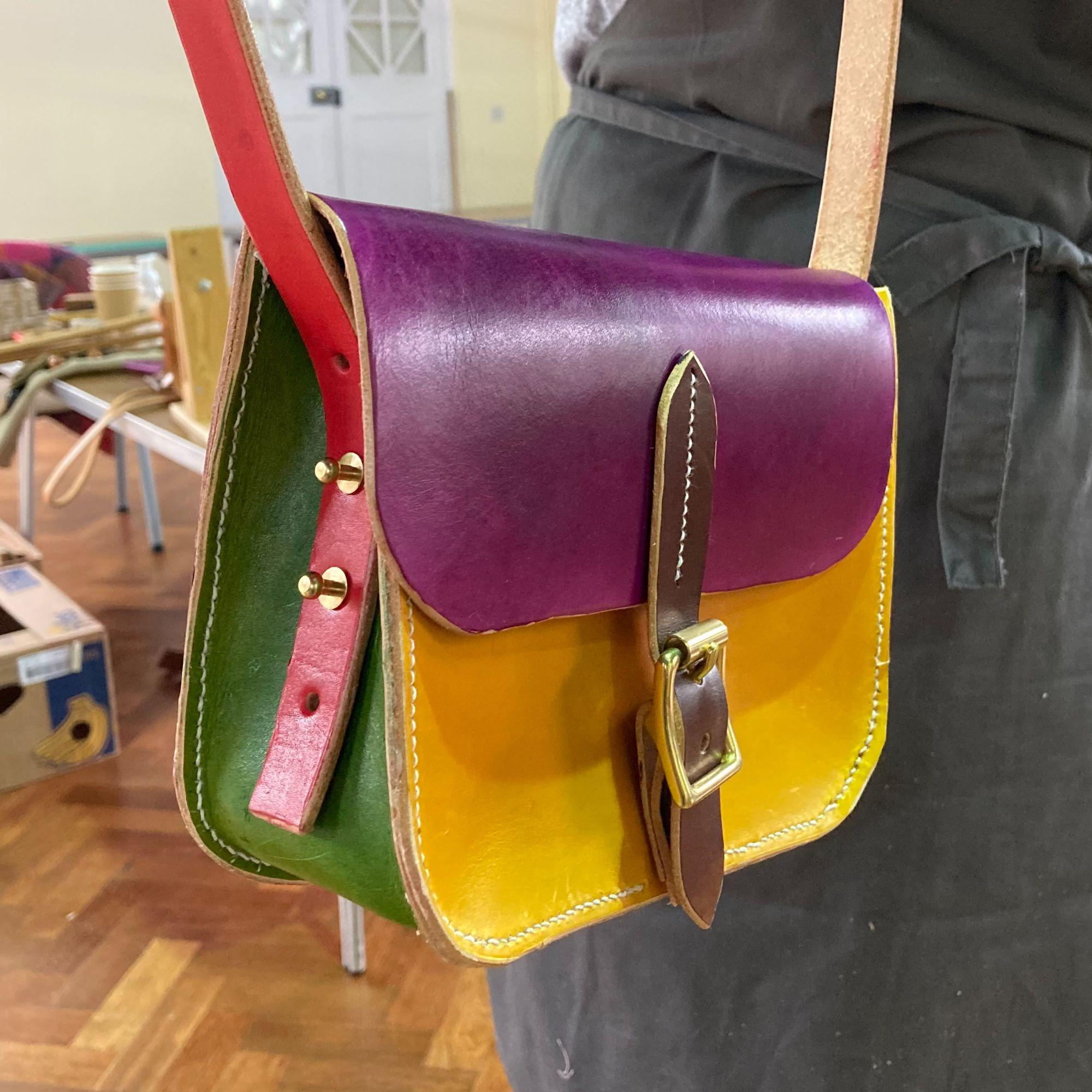 Mini Leather Satchel Workshop - Mulit Colour