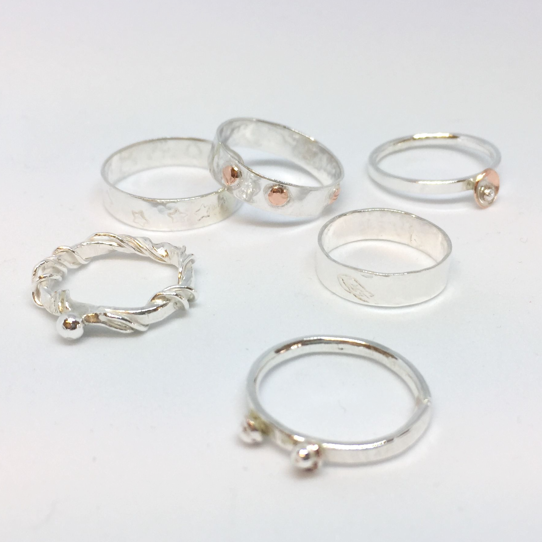 Silver Ring Workshop - Circles