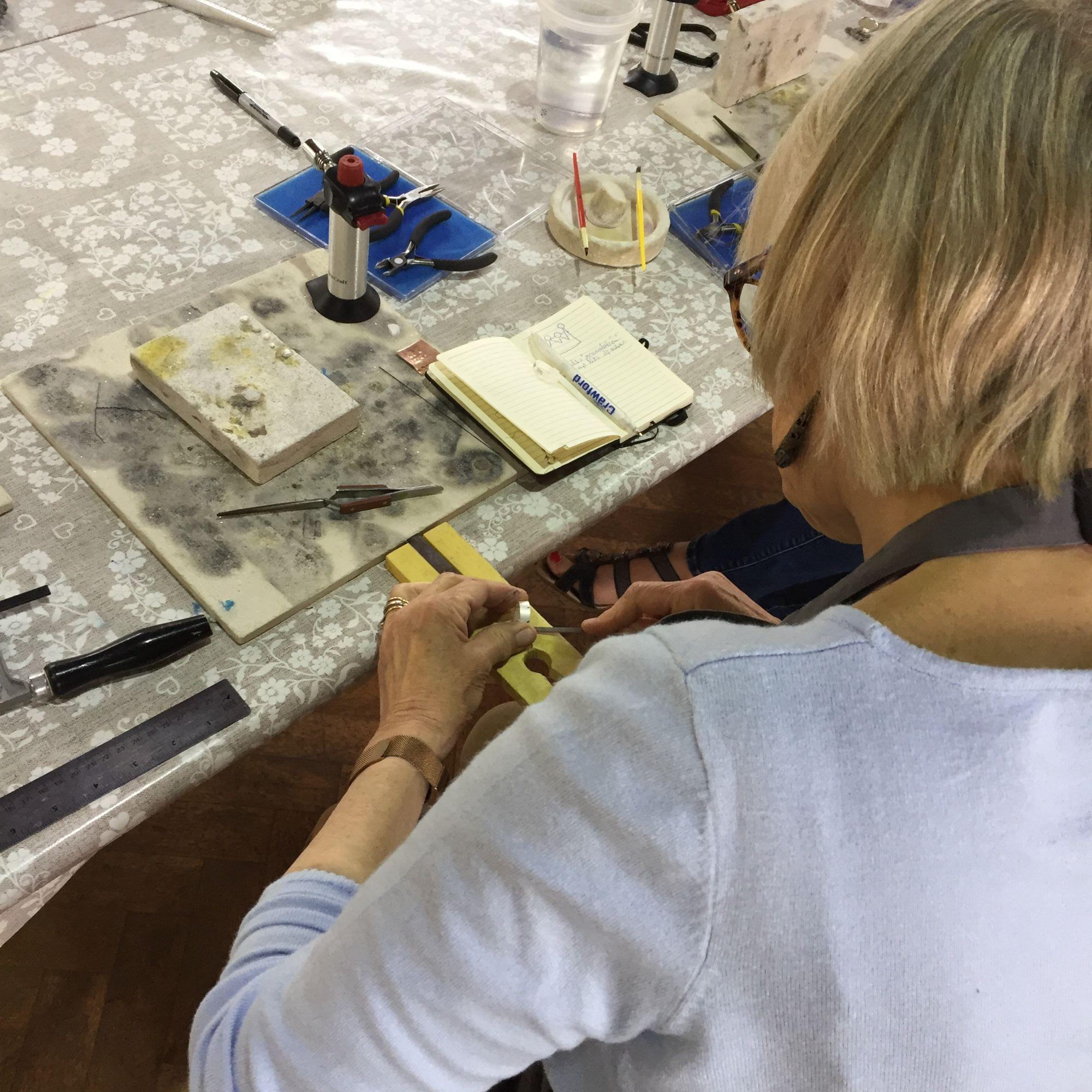 Silver Ring Workshop - Workshoppers