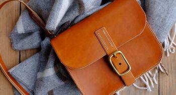 Mini Leather Satchel Workshop - Sunday 12th December 2021